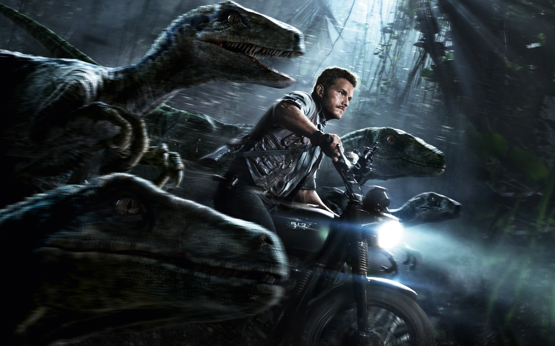 Wallpaper Chris Pratt in Jurassic World