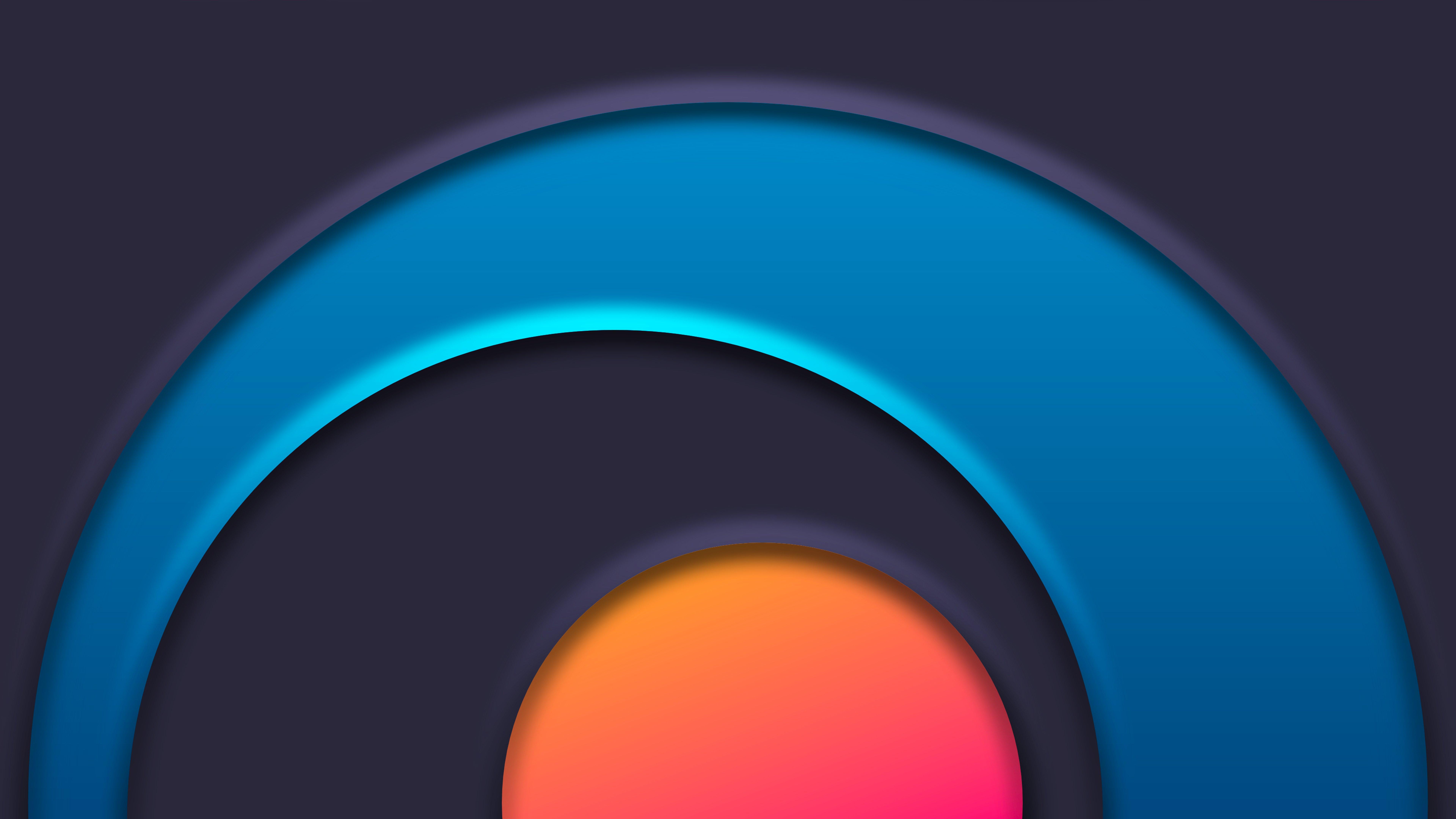 Wallpaper Circle Chakra Abstract