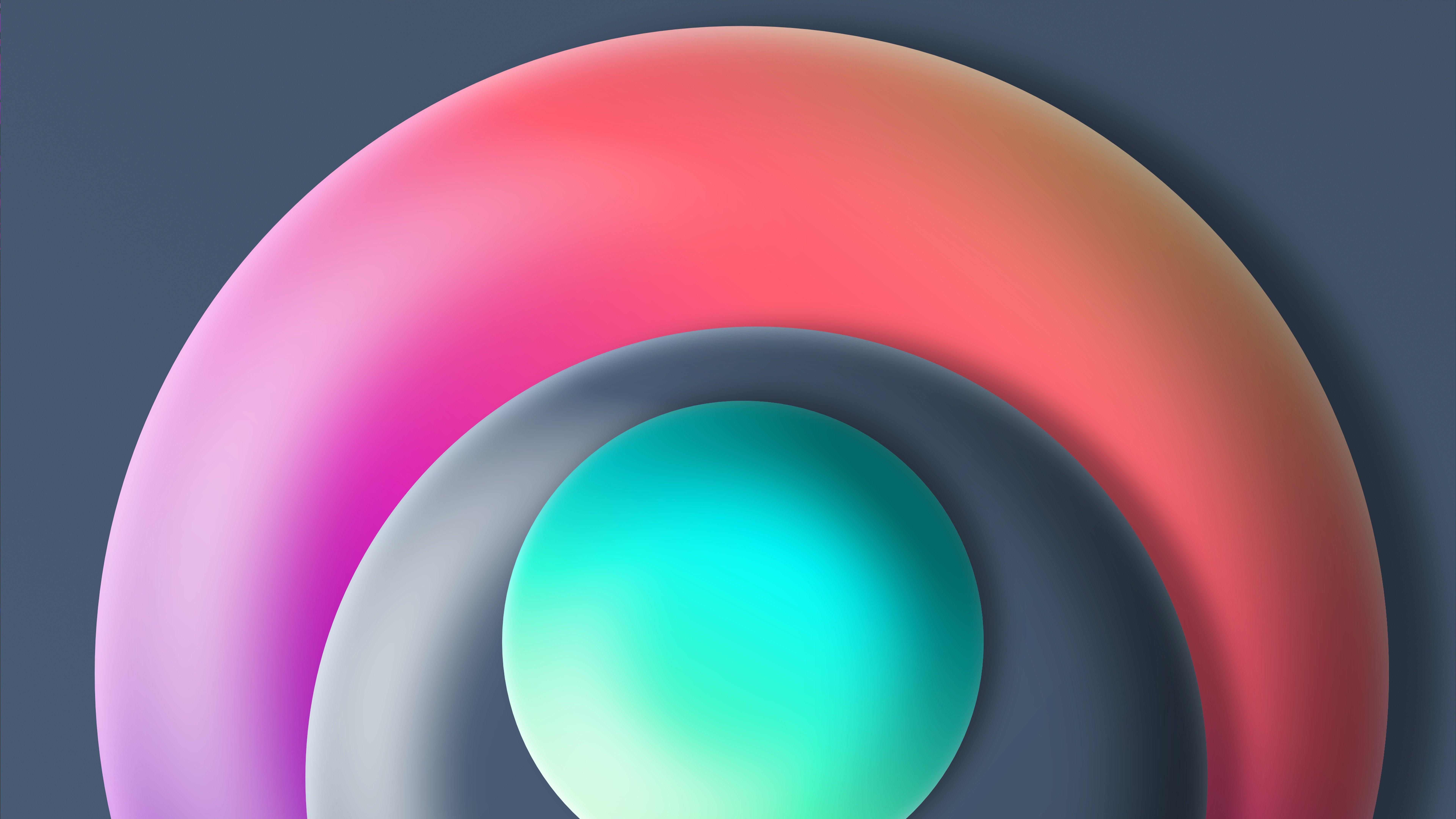 Fondos de pantalla Circulos en 3D