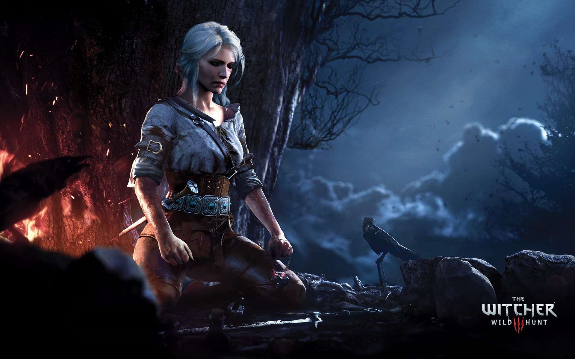 Wallpaper Ciri from The Witcher 3 Wild Hunt