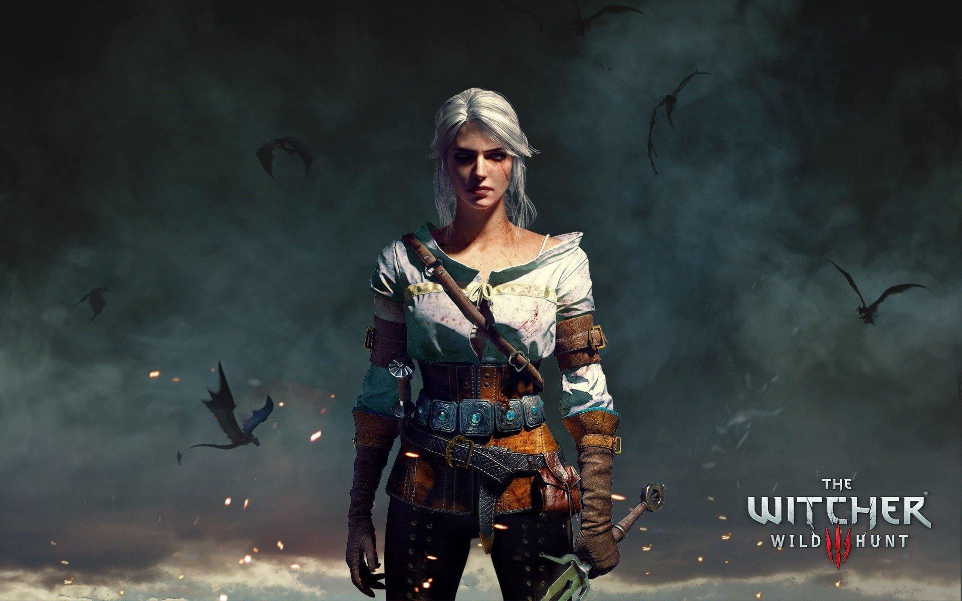 Fondos de pantalla Ciri de Witcher 3 Wild Hunt