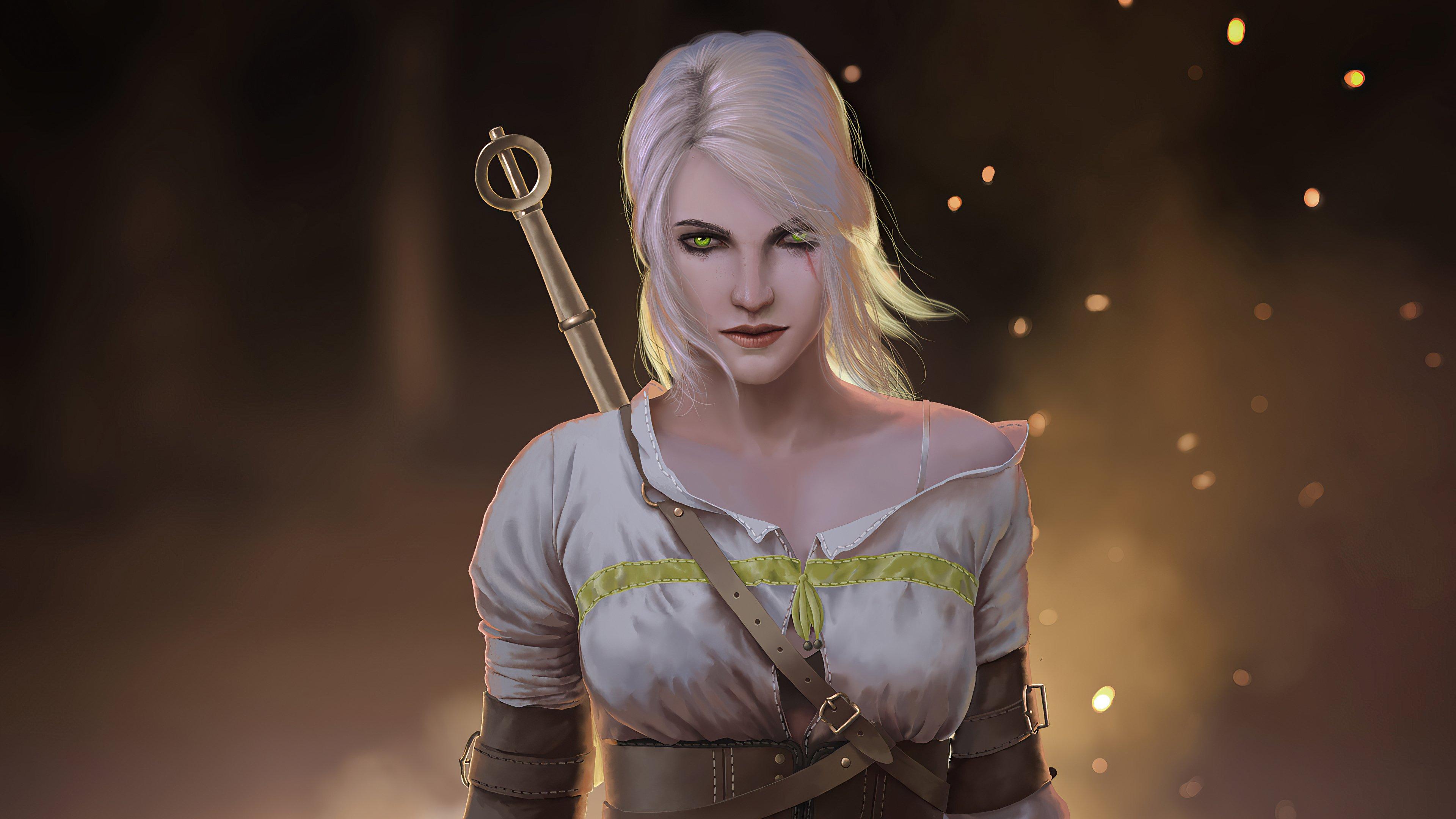 Fondos de pantalla Ciri personaje de The Witcher Fanart