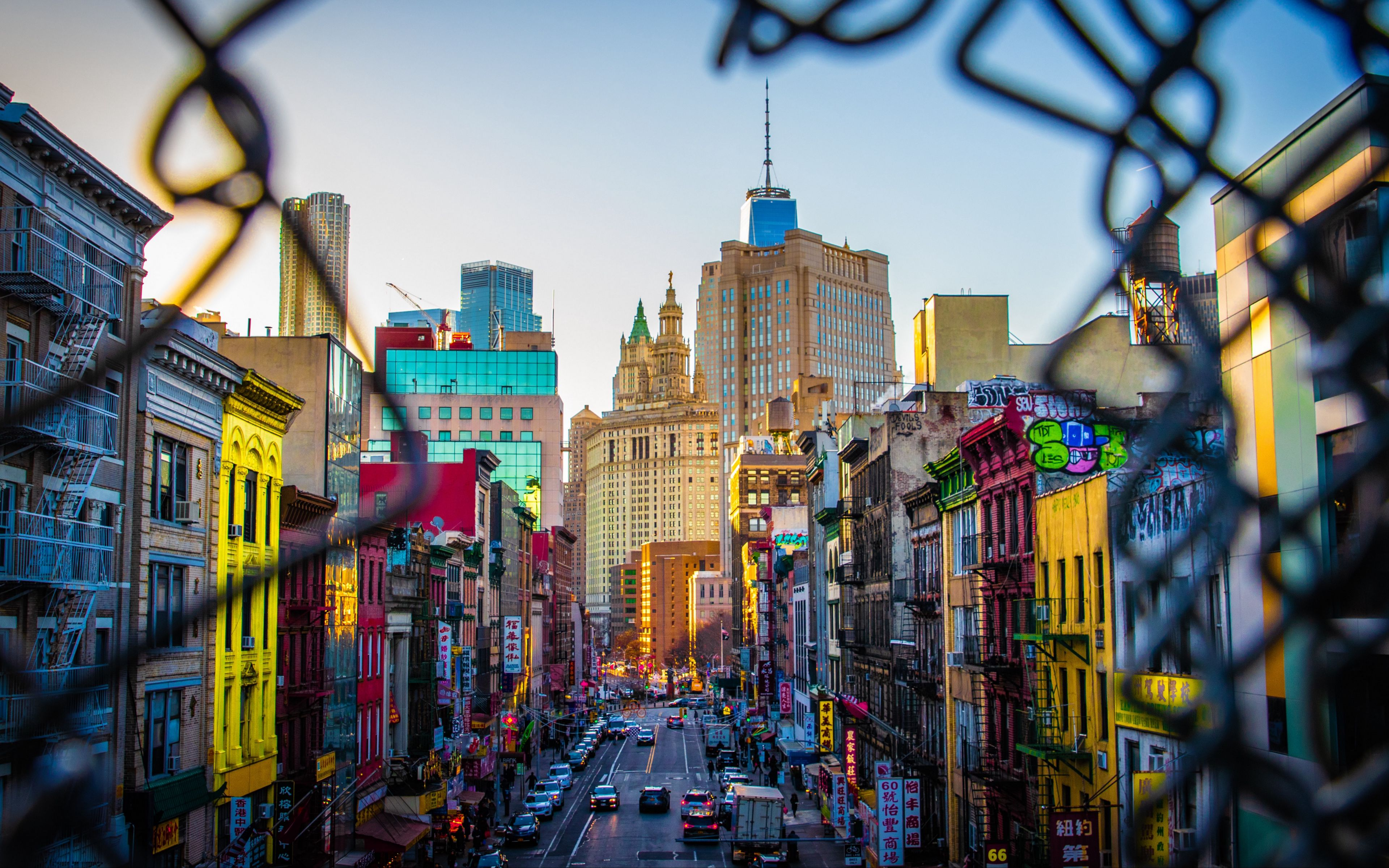 Wallpaper City in movement