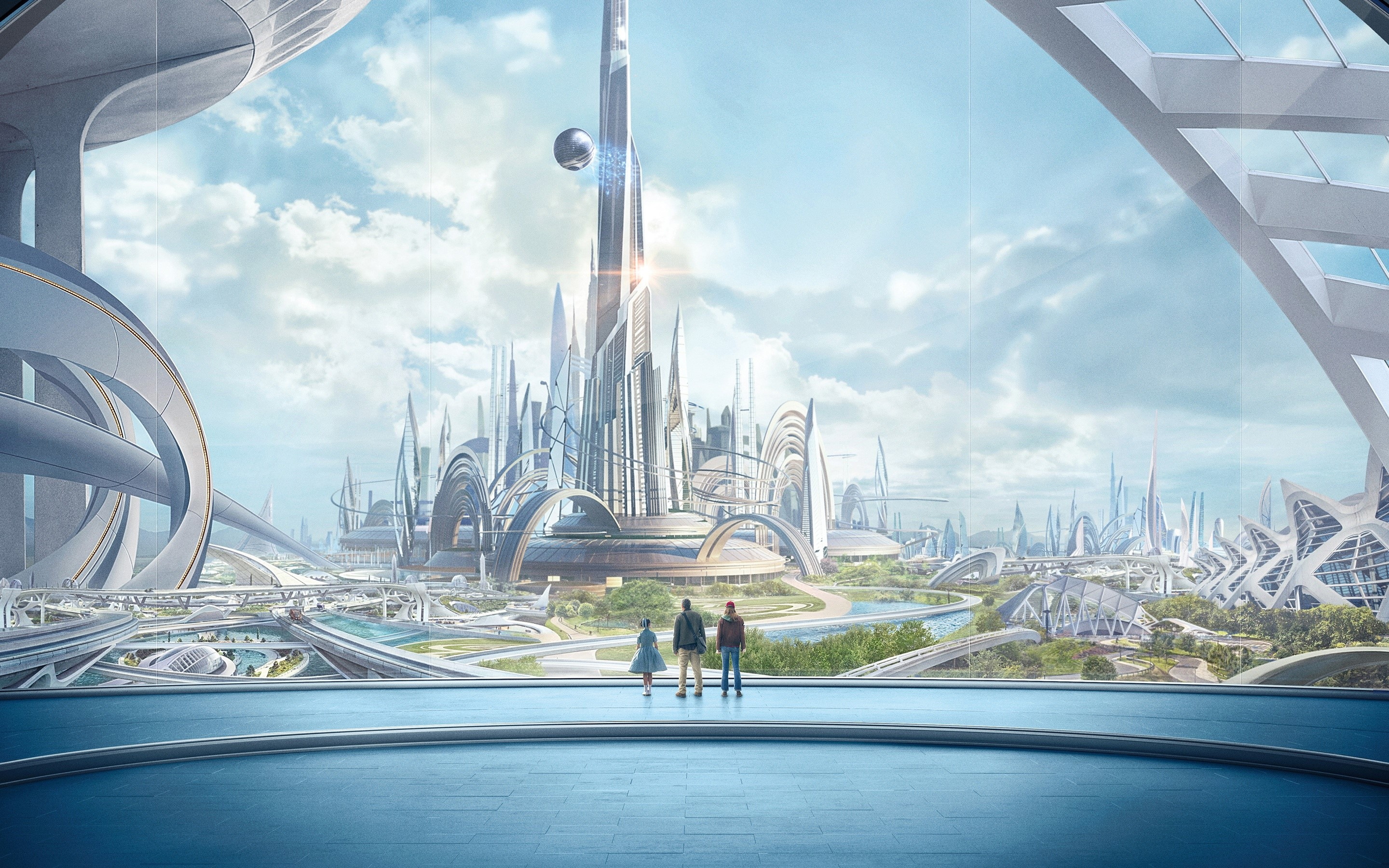 Wallpaper Tomorrowland City
