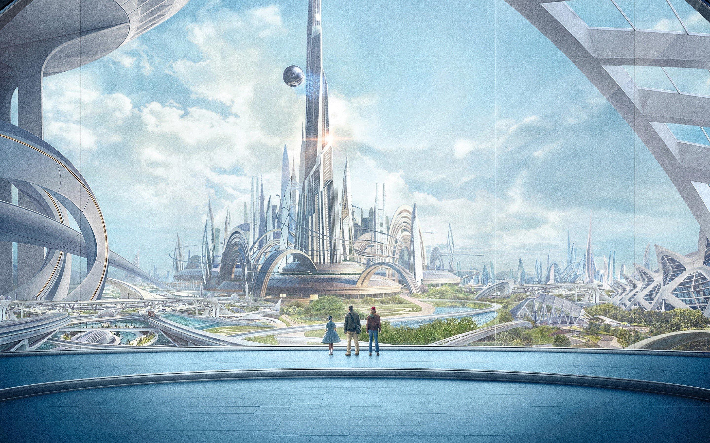 Fondo de pantalla de Ciudad Tomorrowland Imágenes