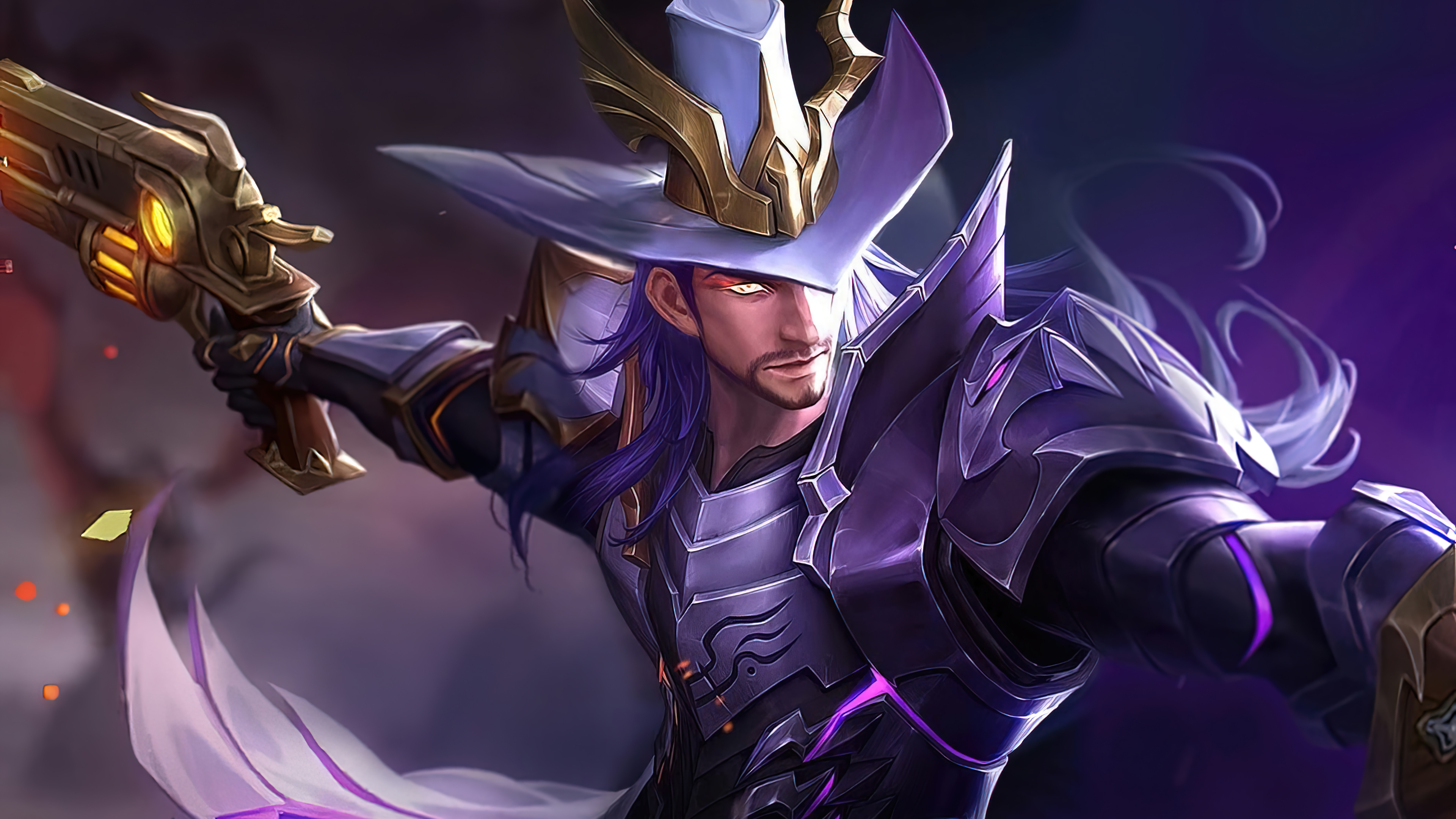 Fondos de pantalla Clint Shadow Omen League of Legends