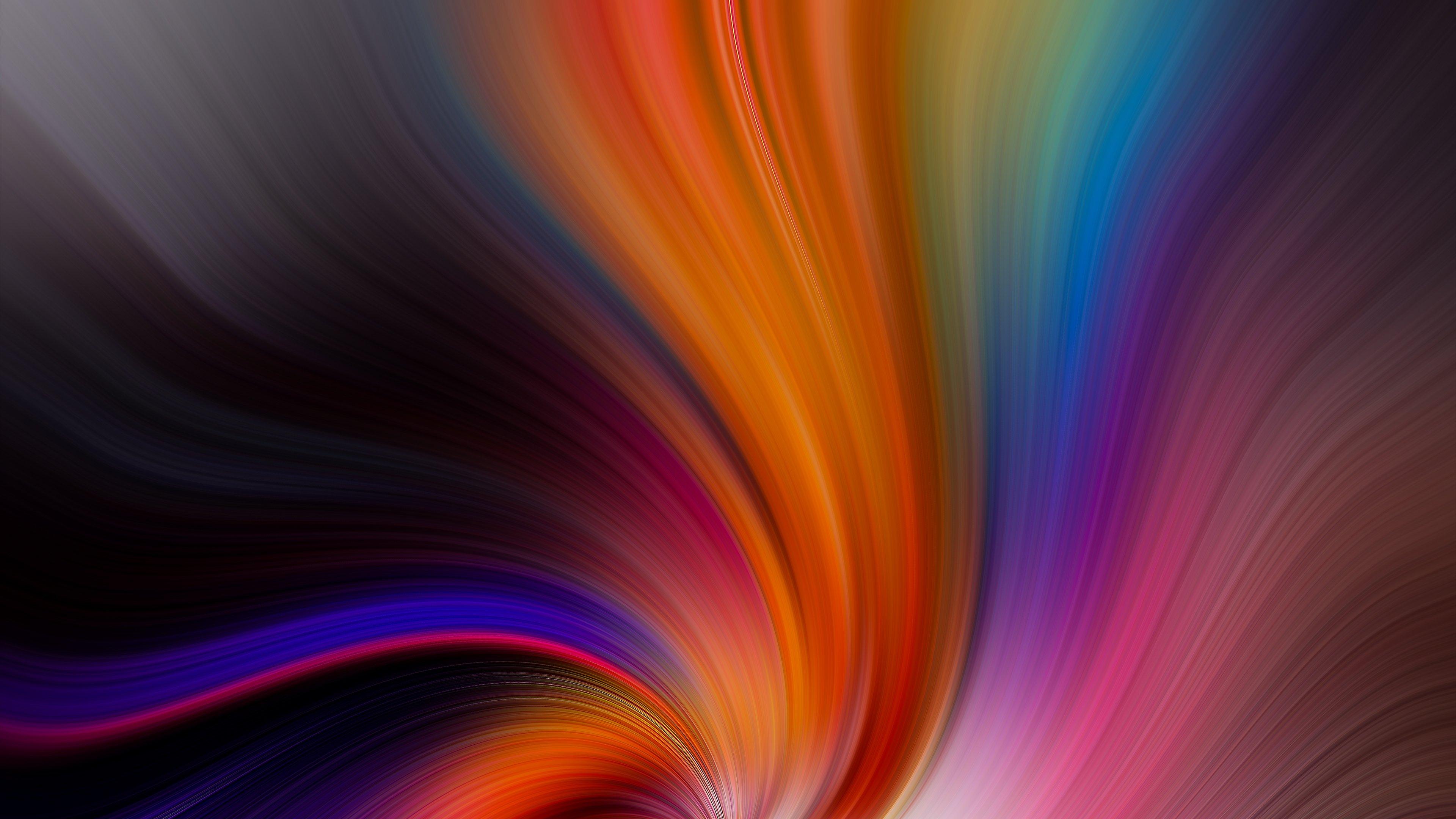 Fondos de pantalla Colores en remolino abstracto