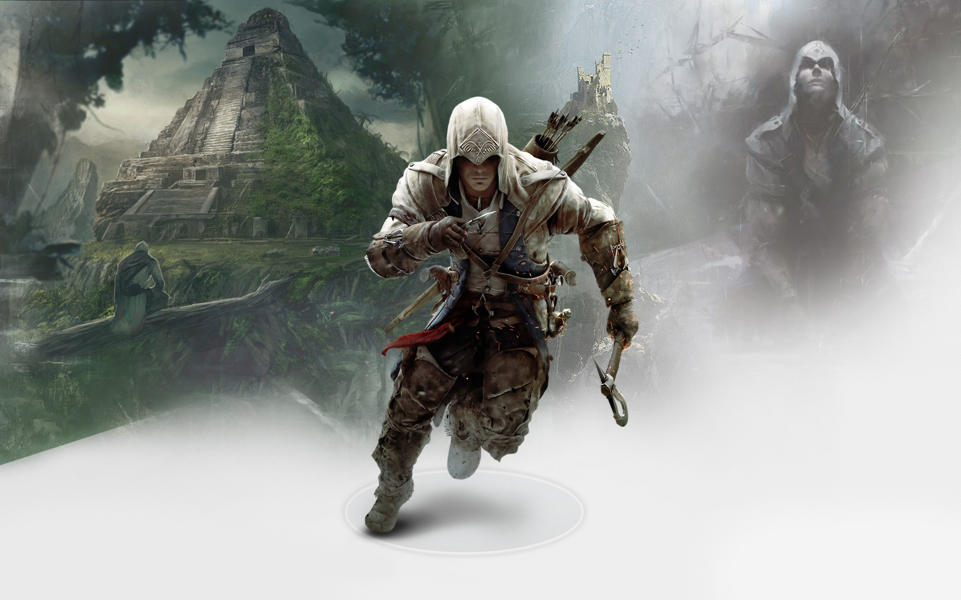 Fondos de pantalla Connor in Assassins Creed 3