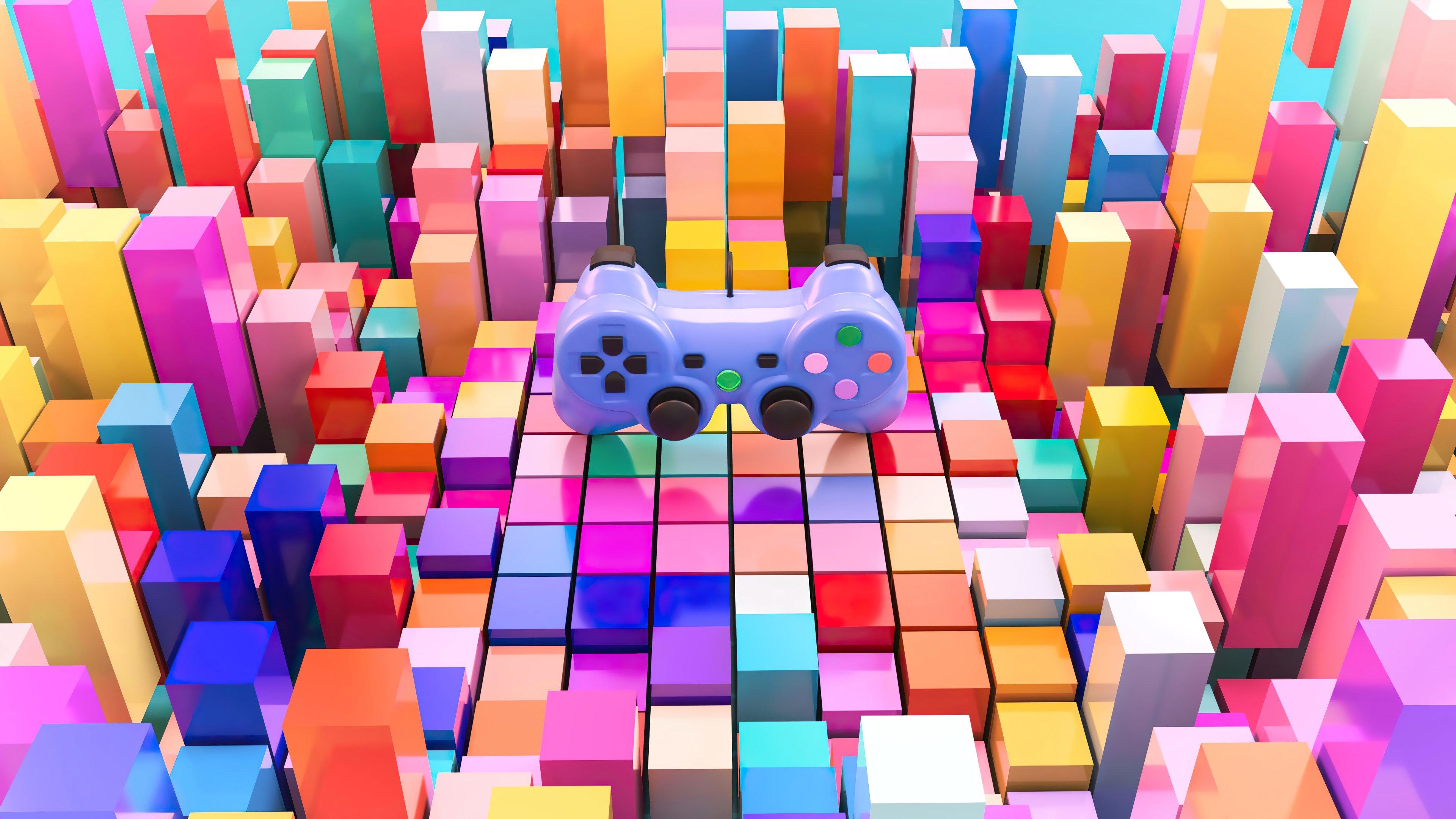 Fondos de pantalla Control de videojuegos Colorido