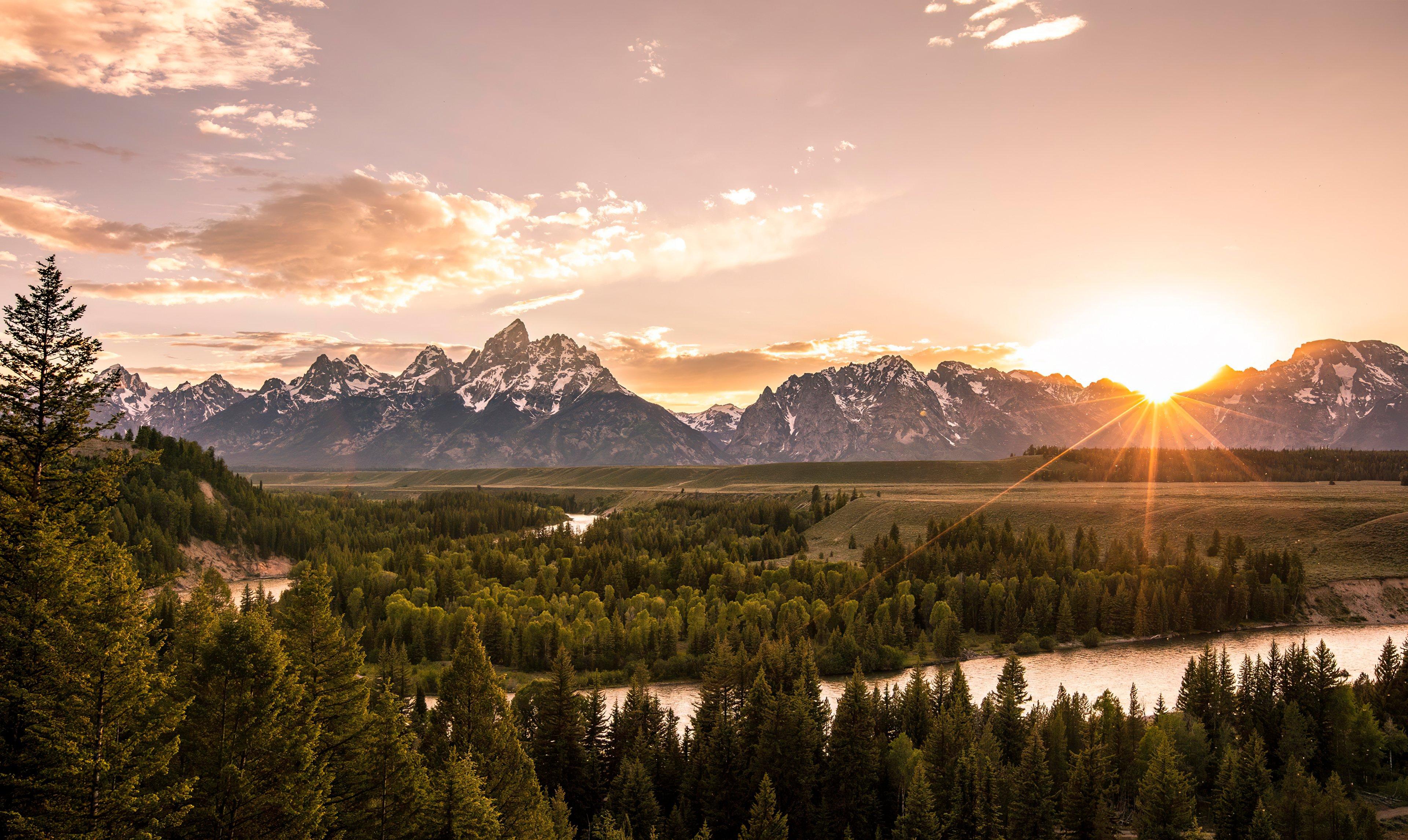 Fondos de pantalla Cordillera Teton