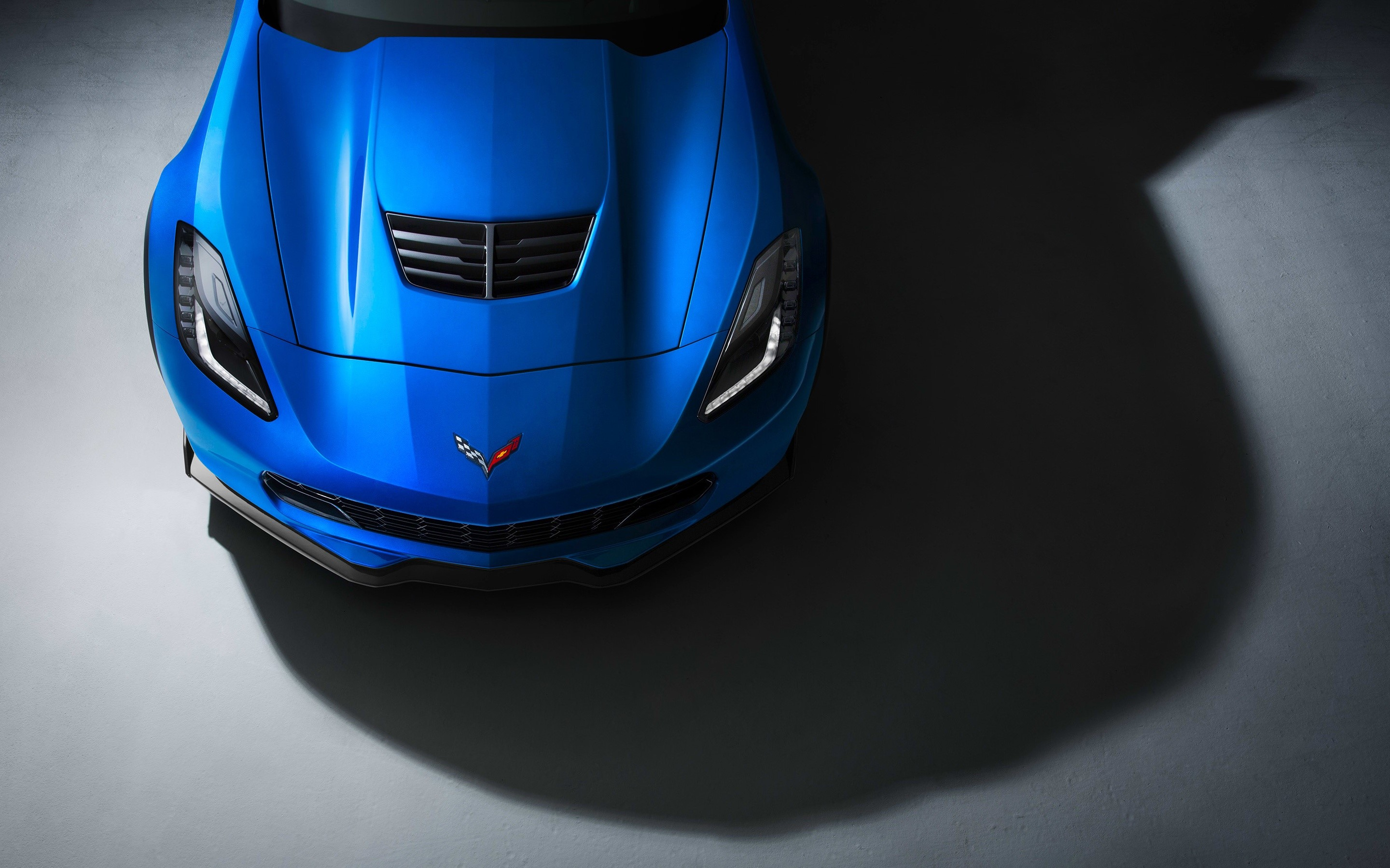 Wallpaper Corvette Z06 Supercar