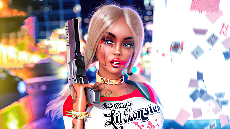 Fondos de pantalla Cosplay de Harley Quinn