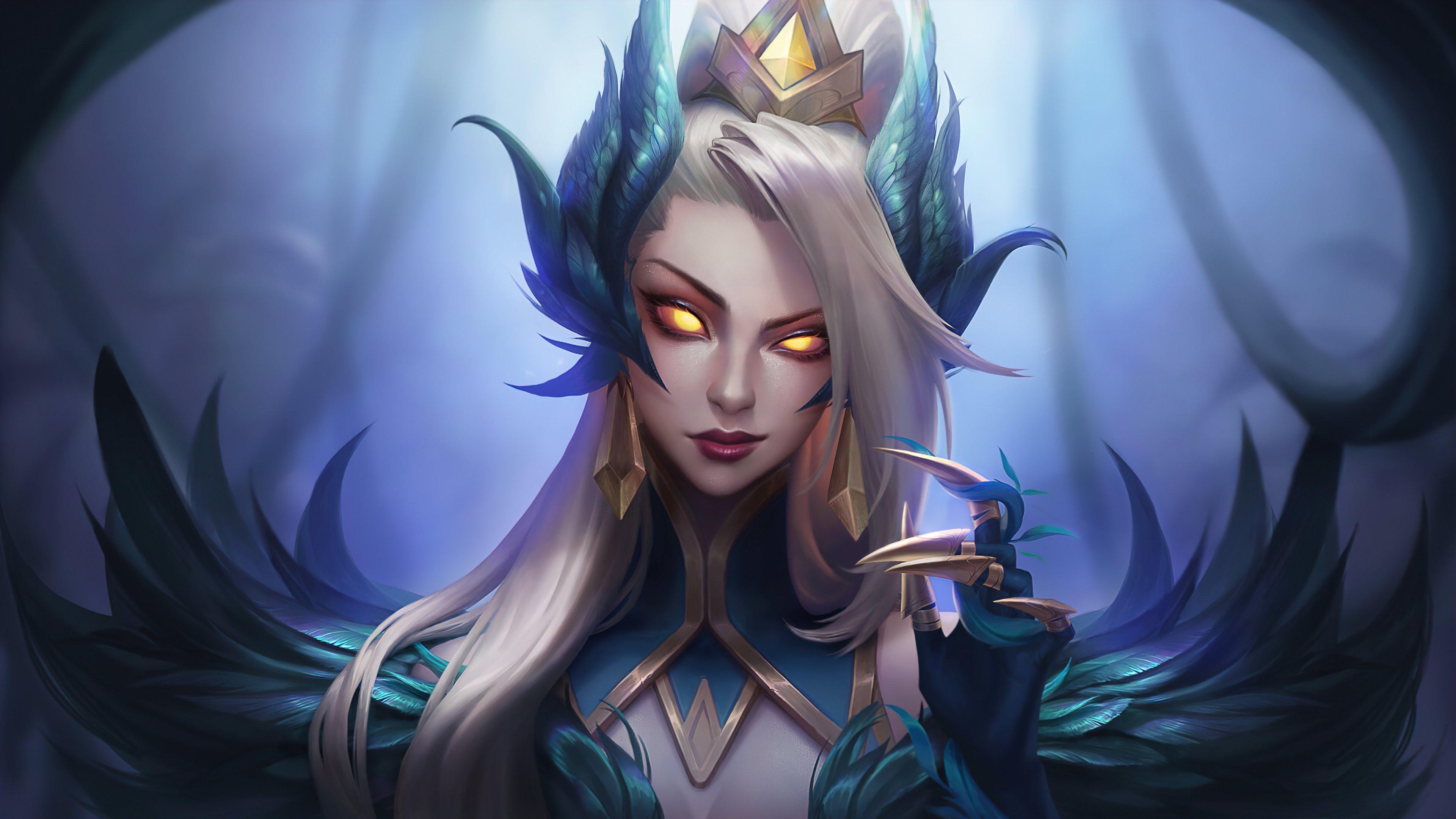 Wallpaper Coven Zyra League of Legends Art