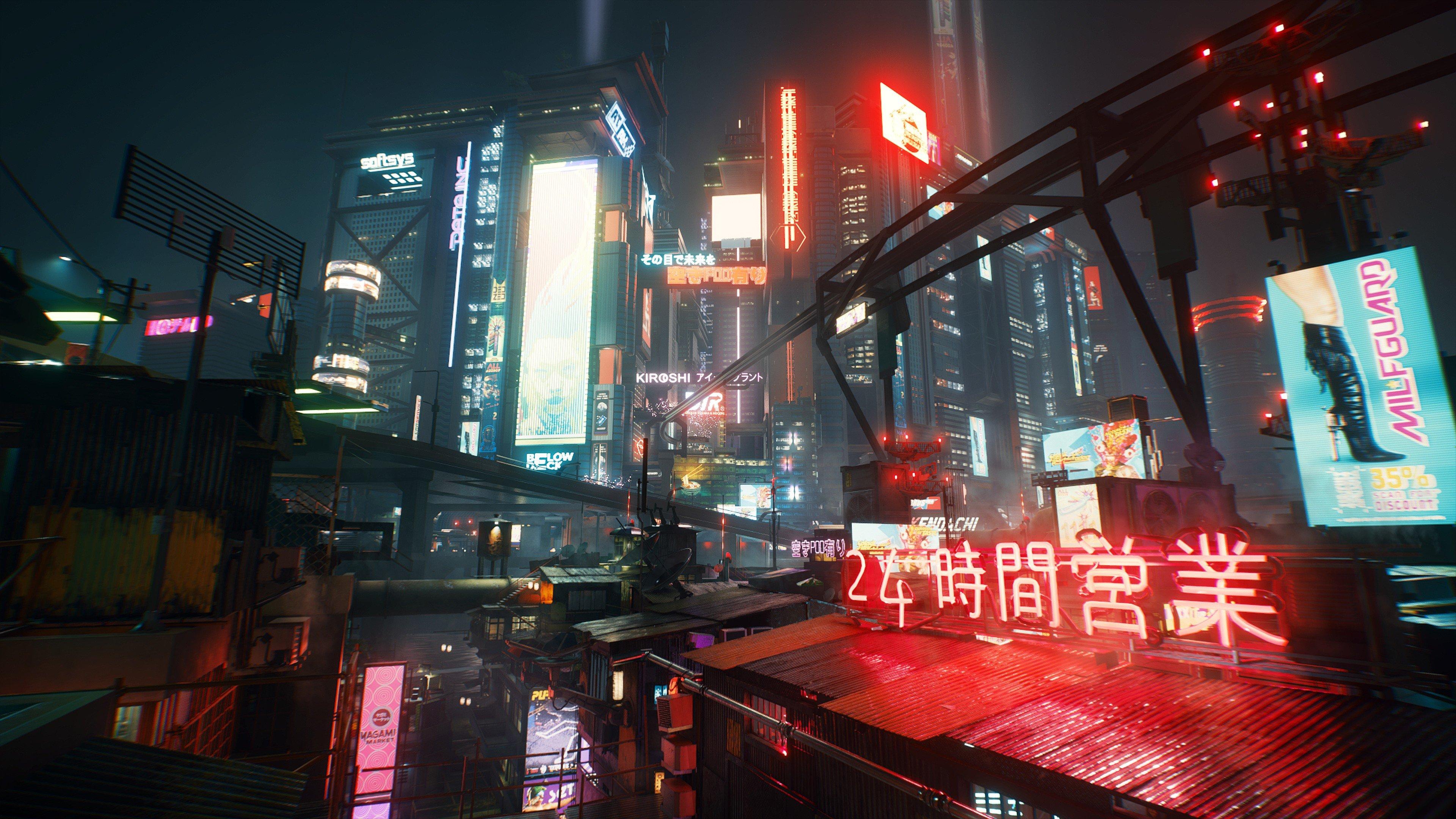 Wallpaper Cyberpunk 2077