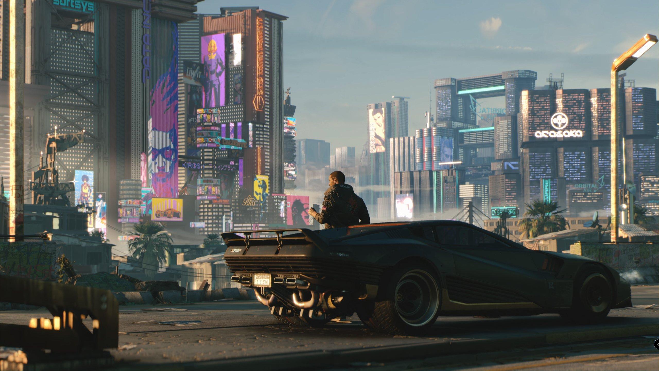 Fondos de pantalla Cyberpunk 2077 Carro