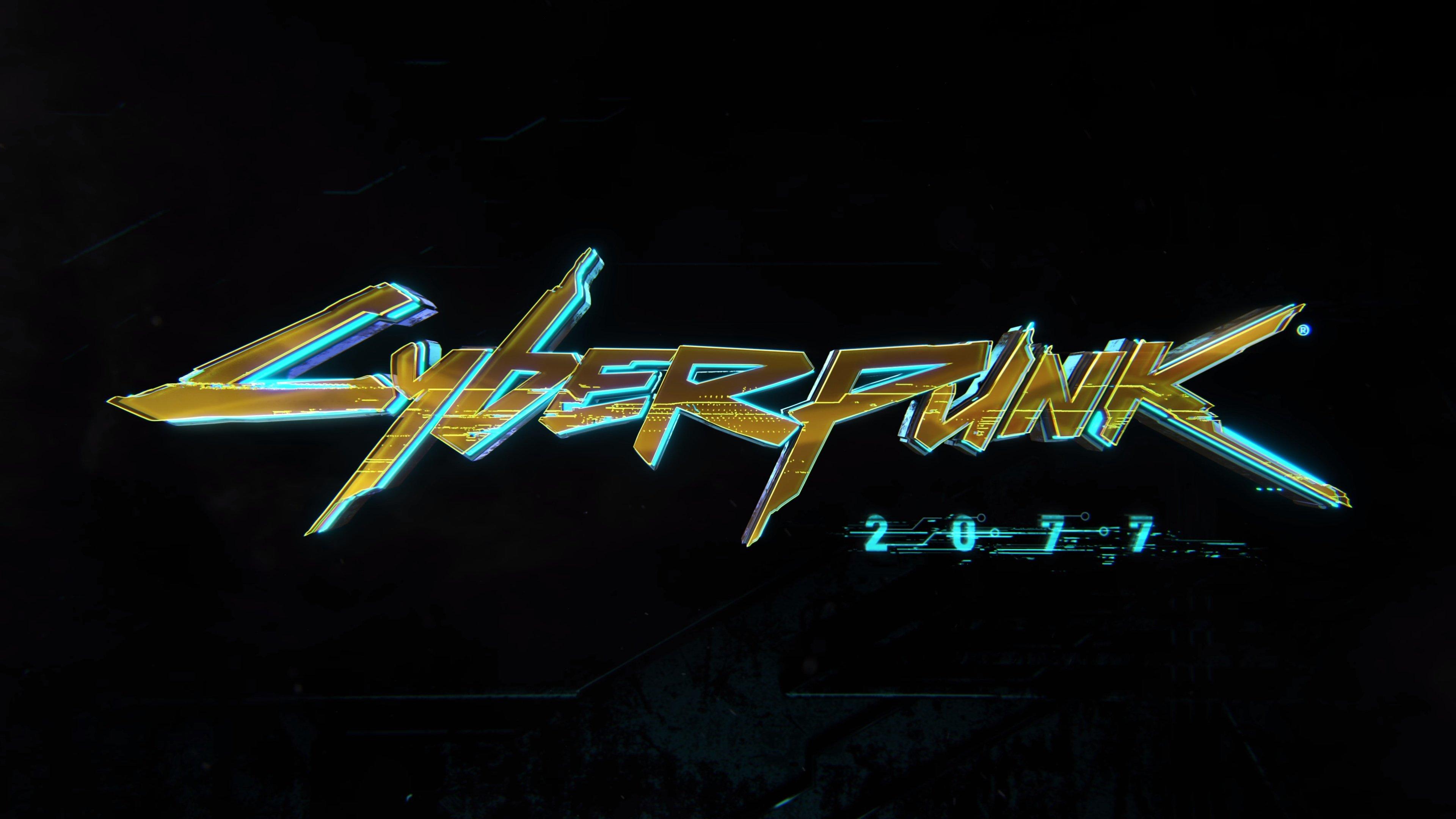 Fondos de pantalla Cyberpunk 2077 Logo