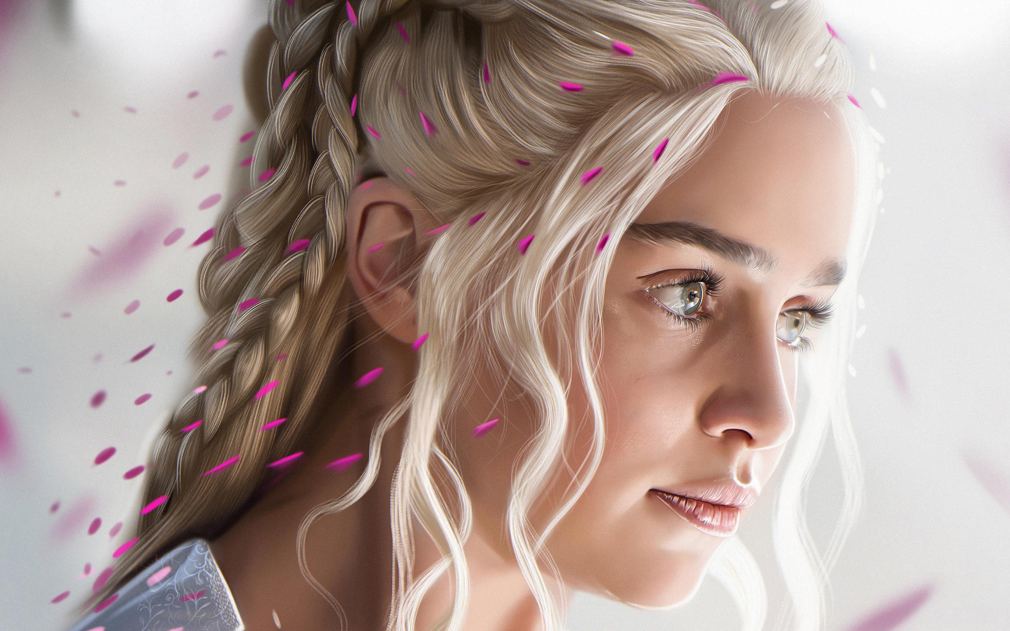 Fondos de pantalla Daenerys Targaryen Arte digital