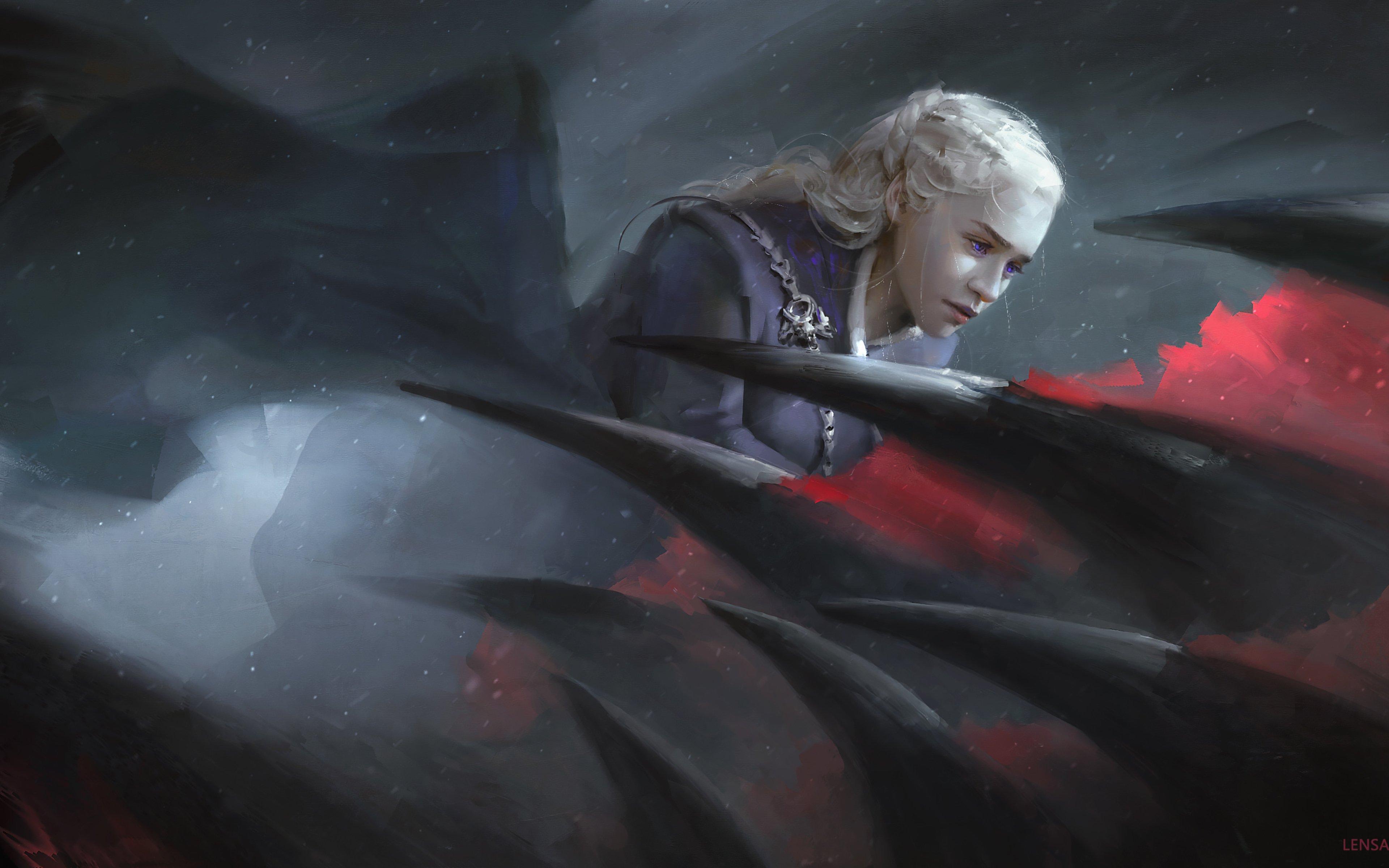 Fondos de pantalla Daenerys Targaryen de Juego de tronos Fanart