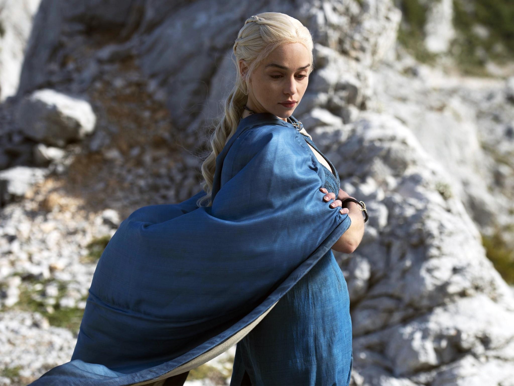 Wallpaper Daenerys Targaryen in Game of Thrones
