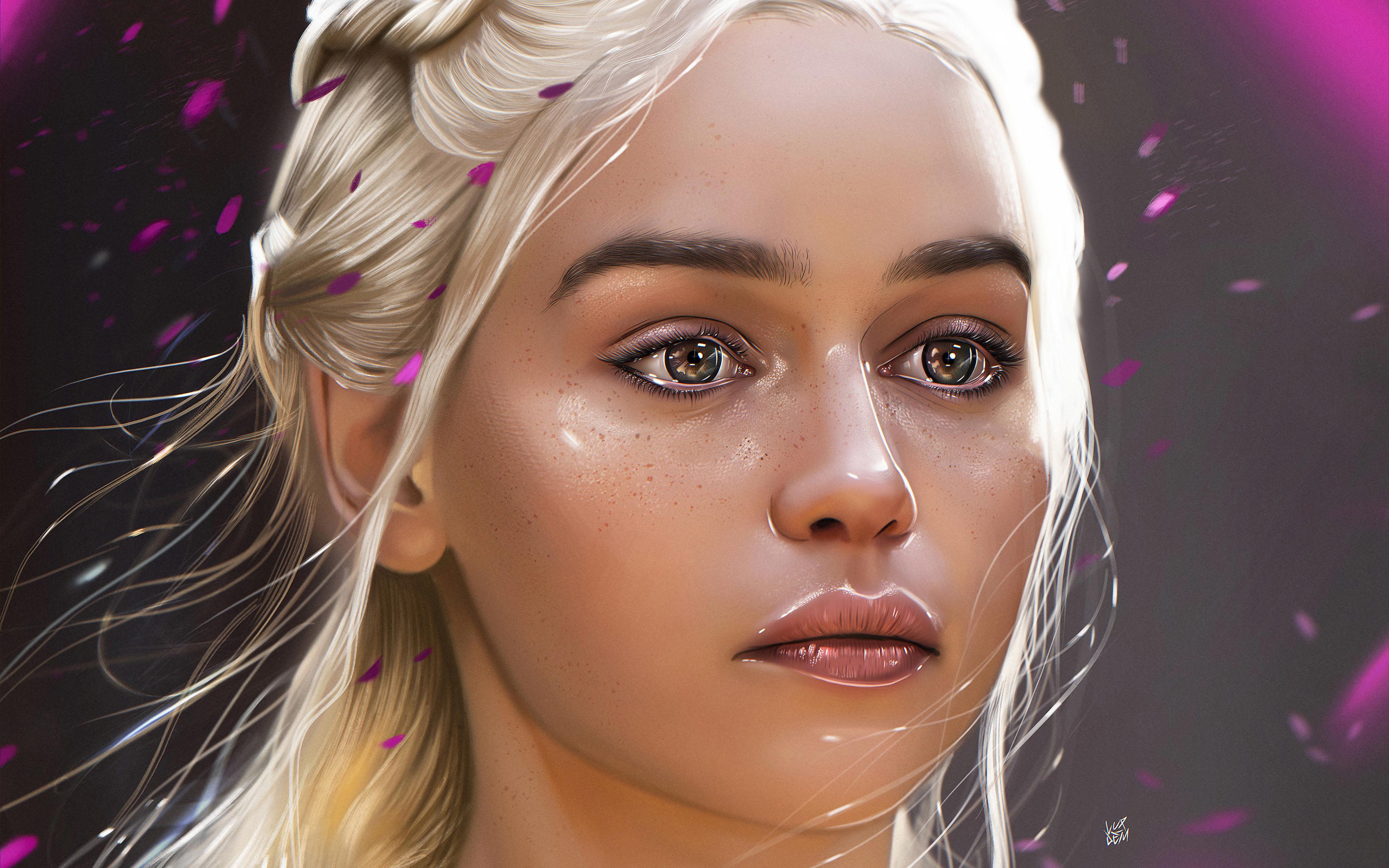 Fondos de pantalla Daenerys Targaryen Fan-art