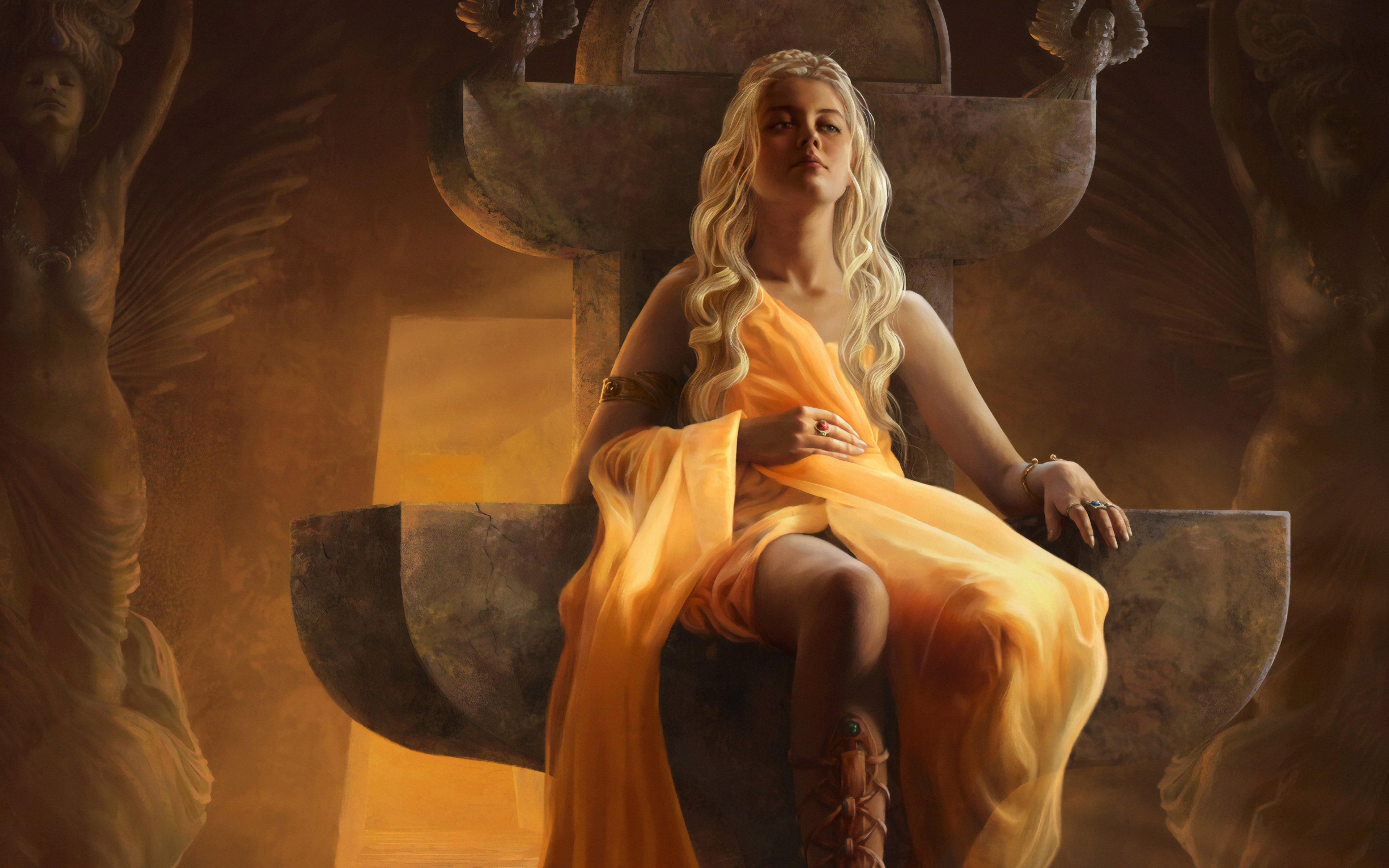 Fondos de pantalla Daenerys Targaryen Fanart