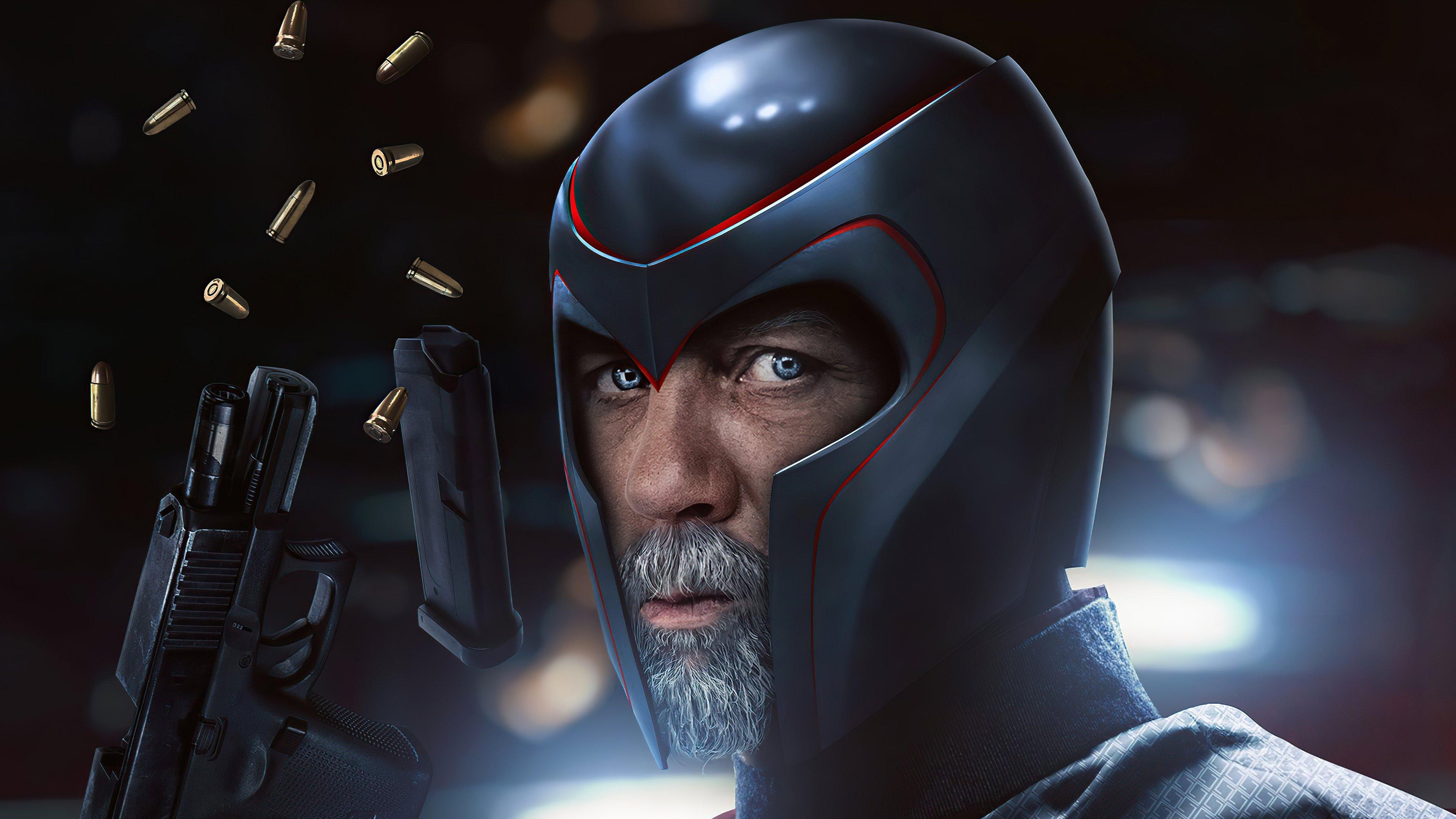 Wallpaper Daniel Graig as Magneto Xmen