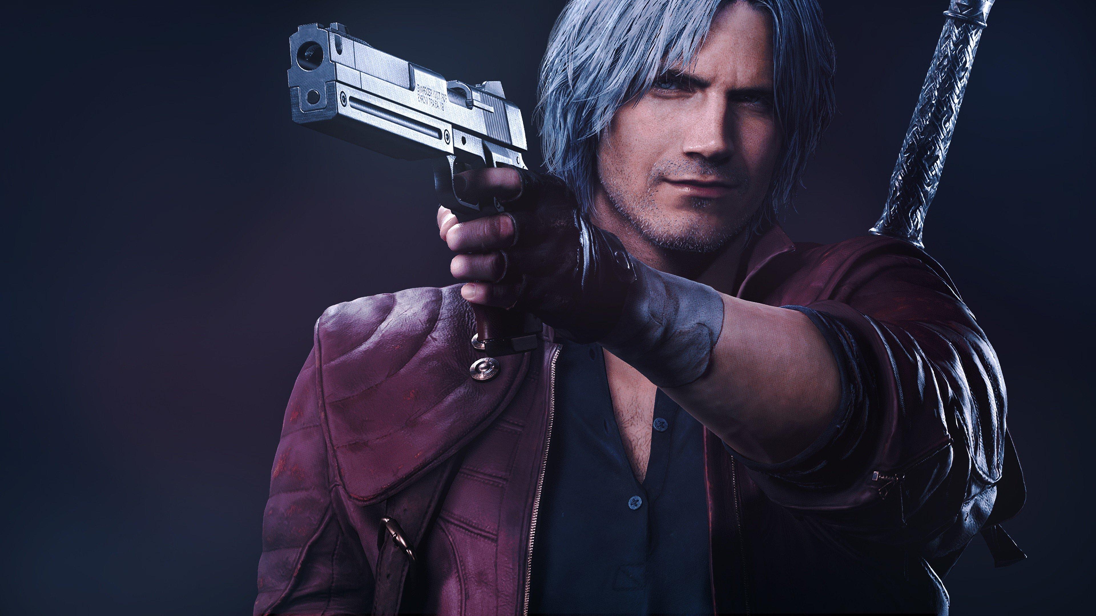 Fondos de pantalla Dante de Devil May Cry 5