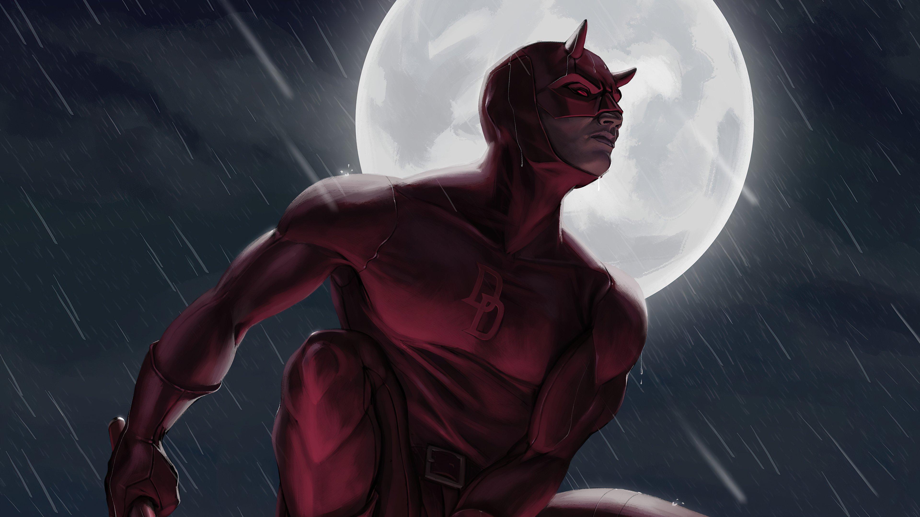 Fondos de pantalla Daredevil a la luz de la luna