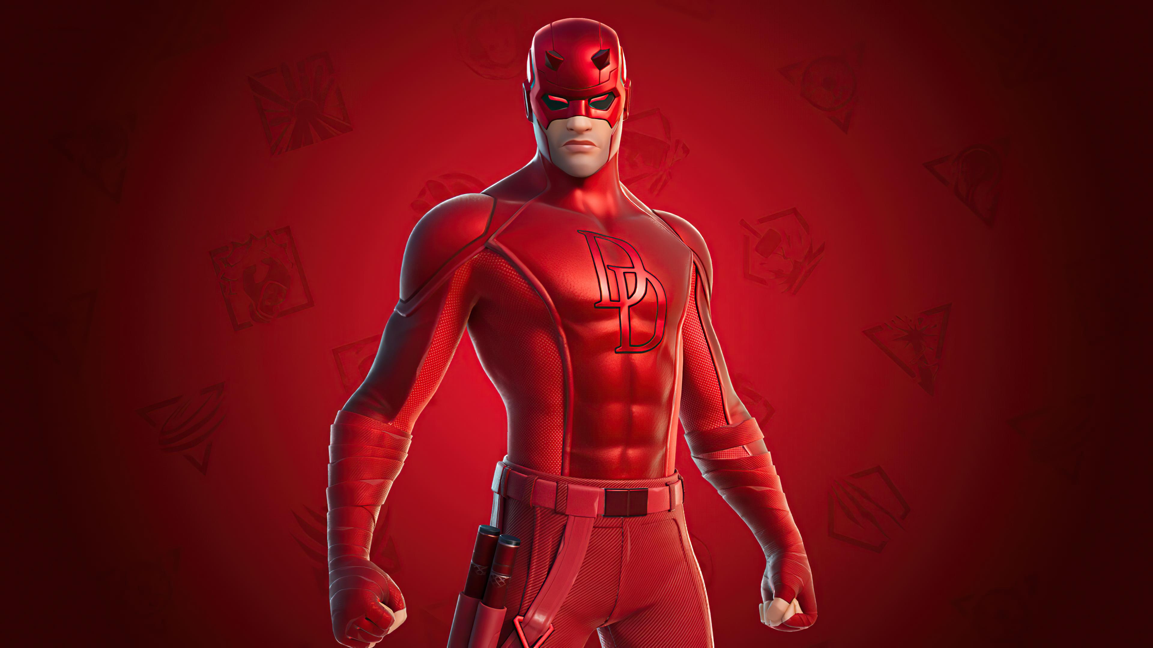 Wallpaper Daredevil Fortnite Style 2020
