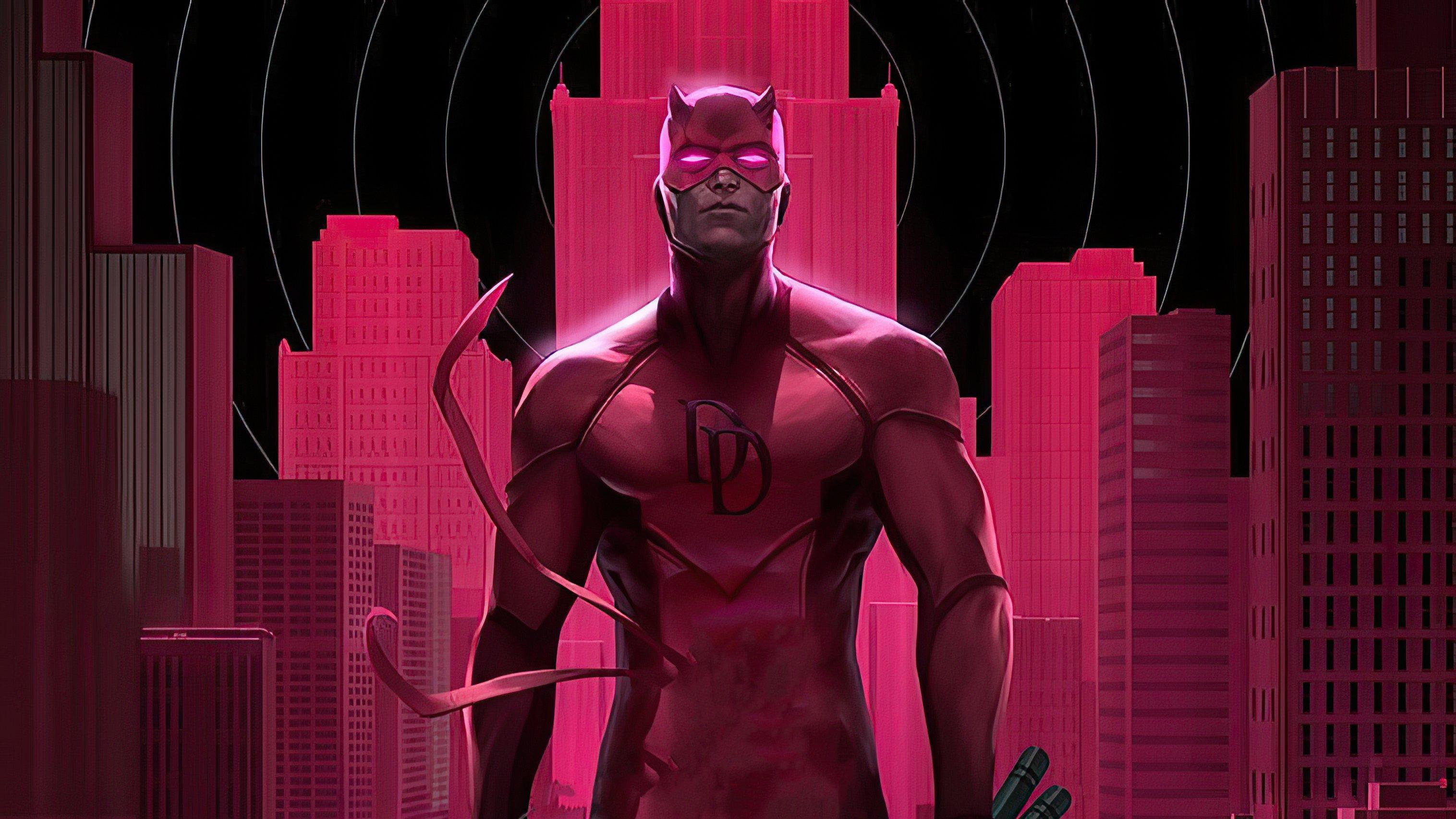 Fondos de pantalla Daredevill en rosa