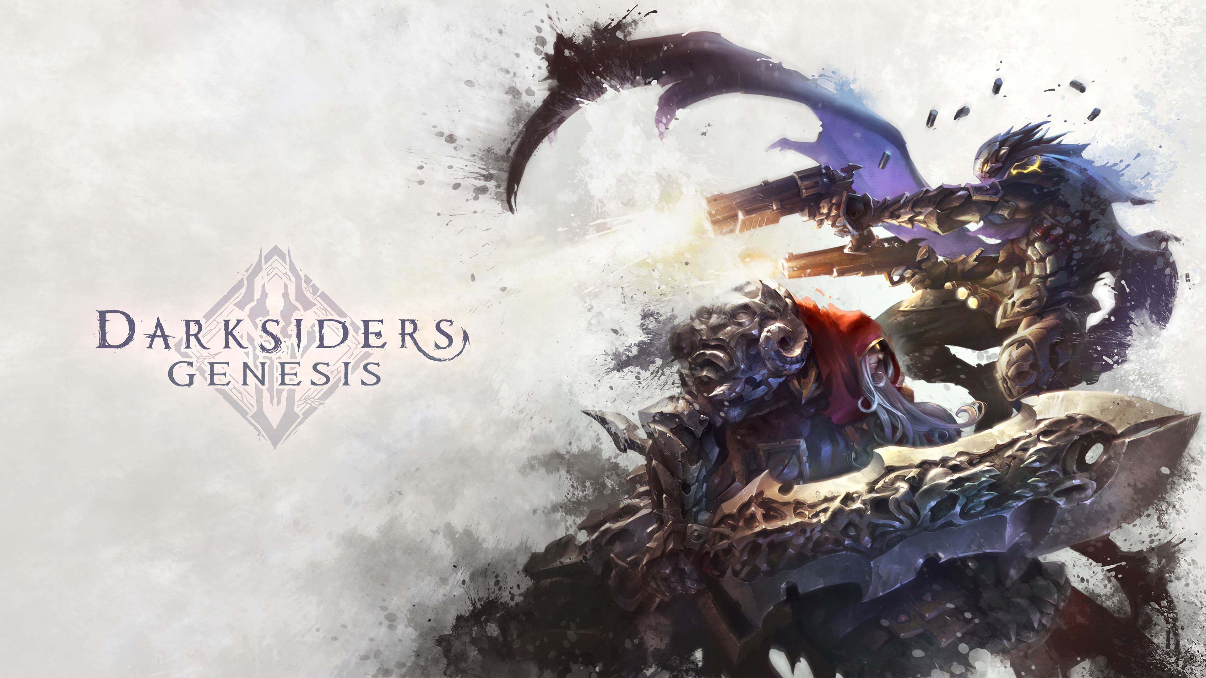 Wallpaper Darksiders Genesis
