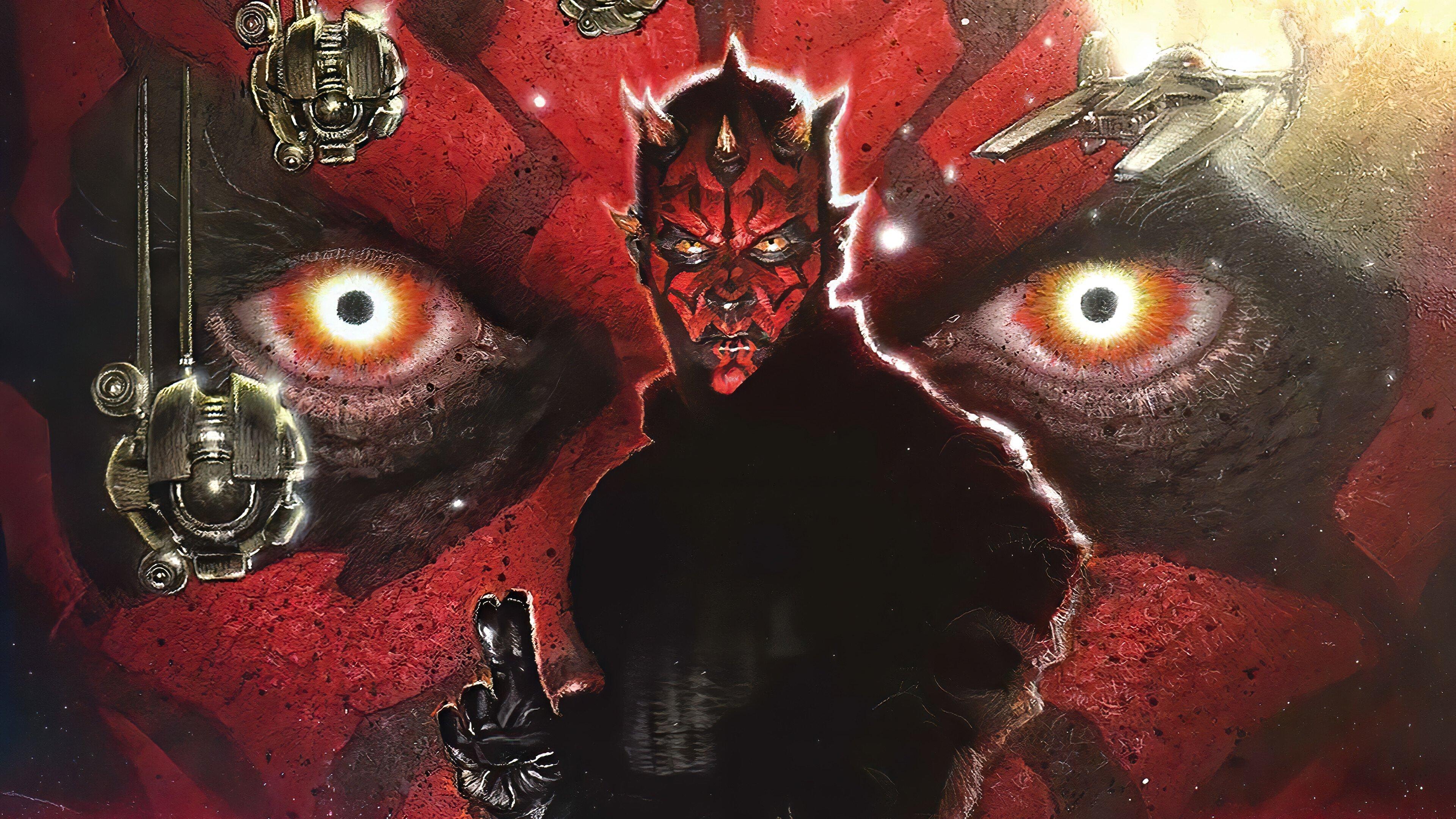 Wallpaper Darth Maul from Star Wars