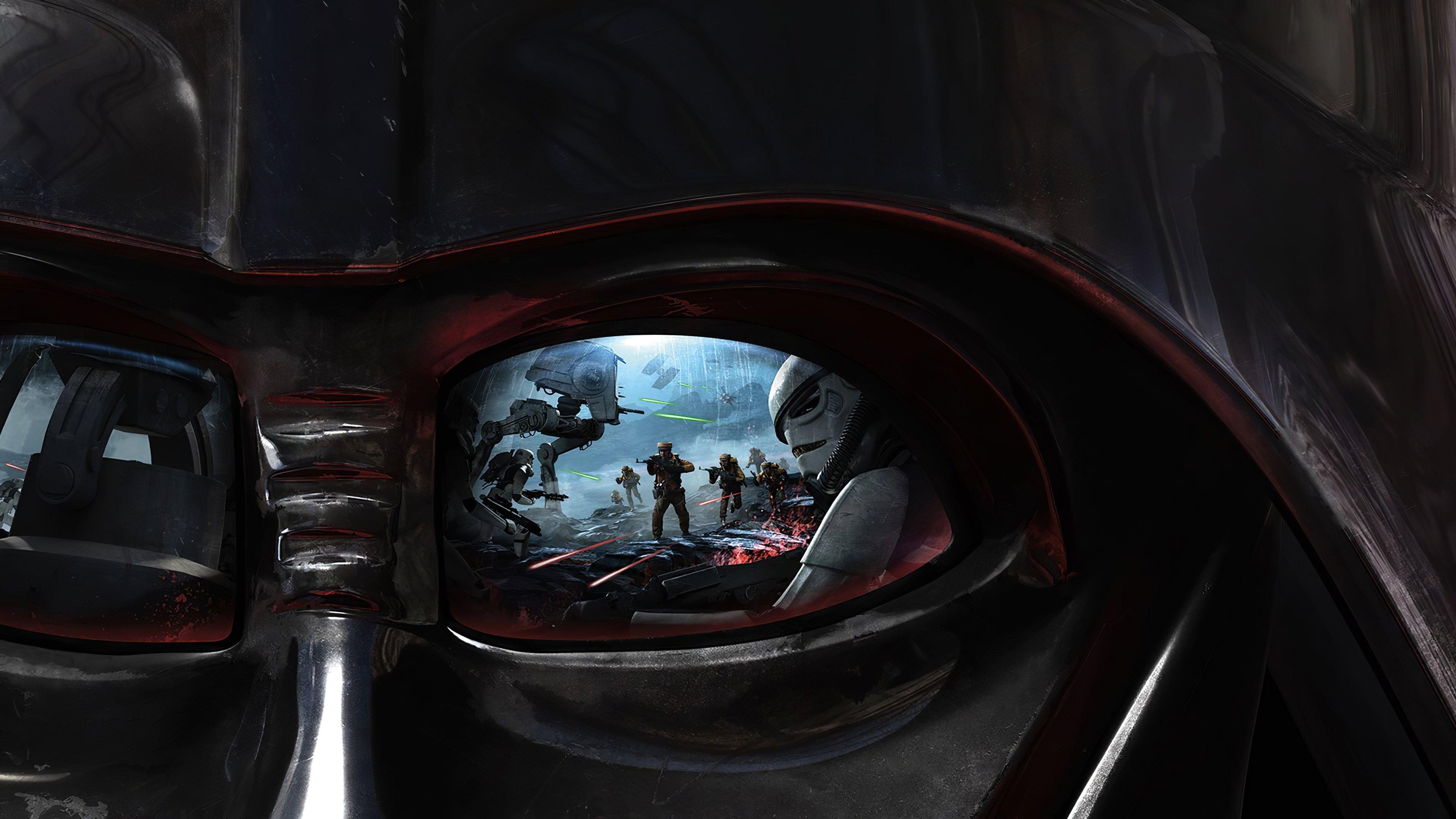 Wallpaper Darth Vader from Star Wars Battlefront