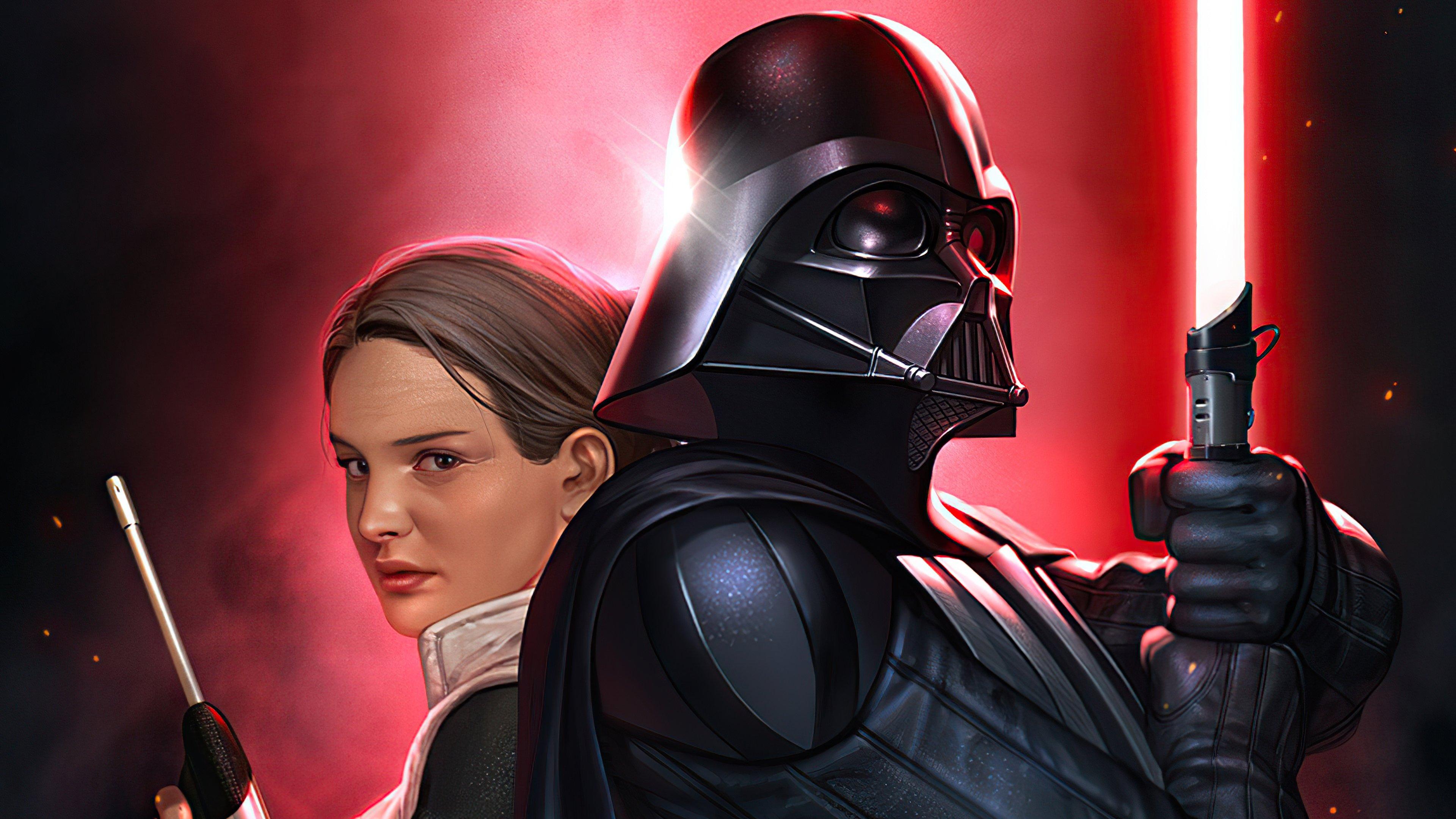 Wallpaper Darth Vader Star Wars