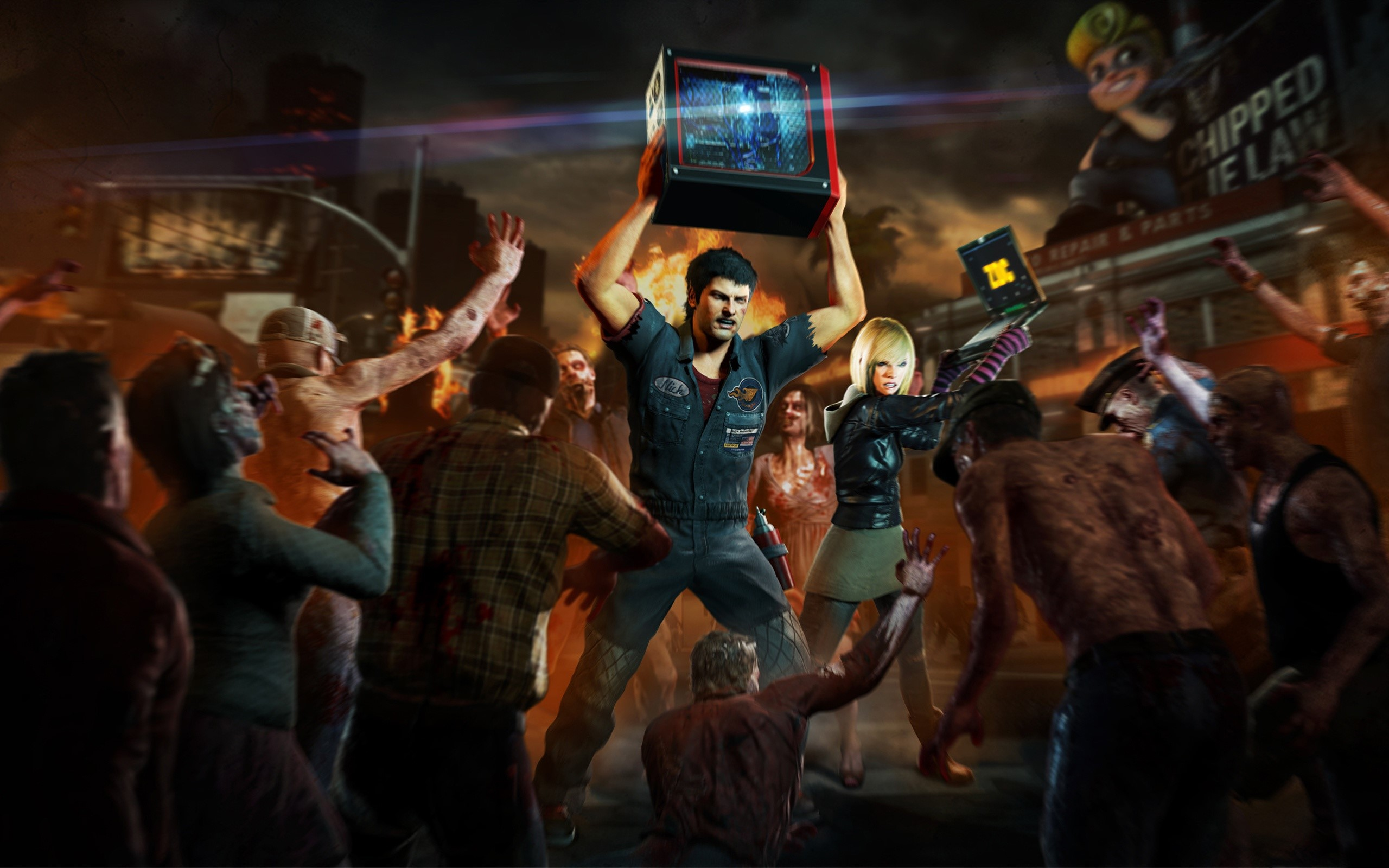 Wallpaper Dead Rising 3