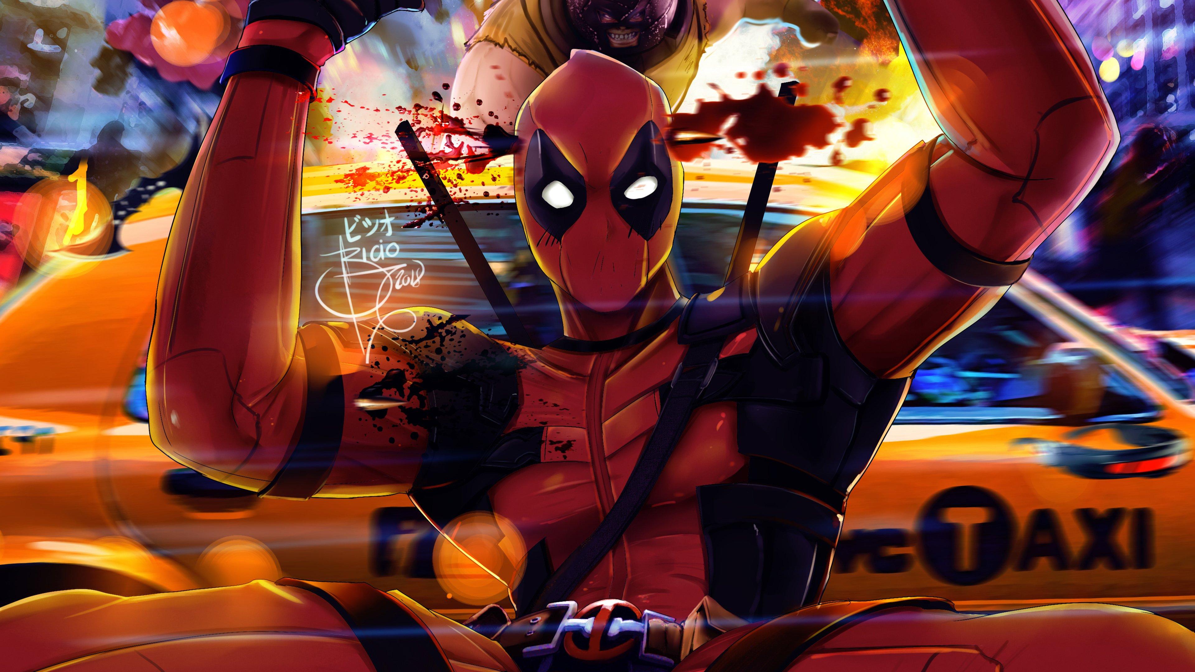 Fondos de pantalla Deadpool 2 Artwork