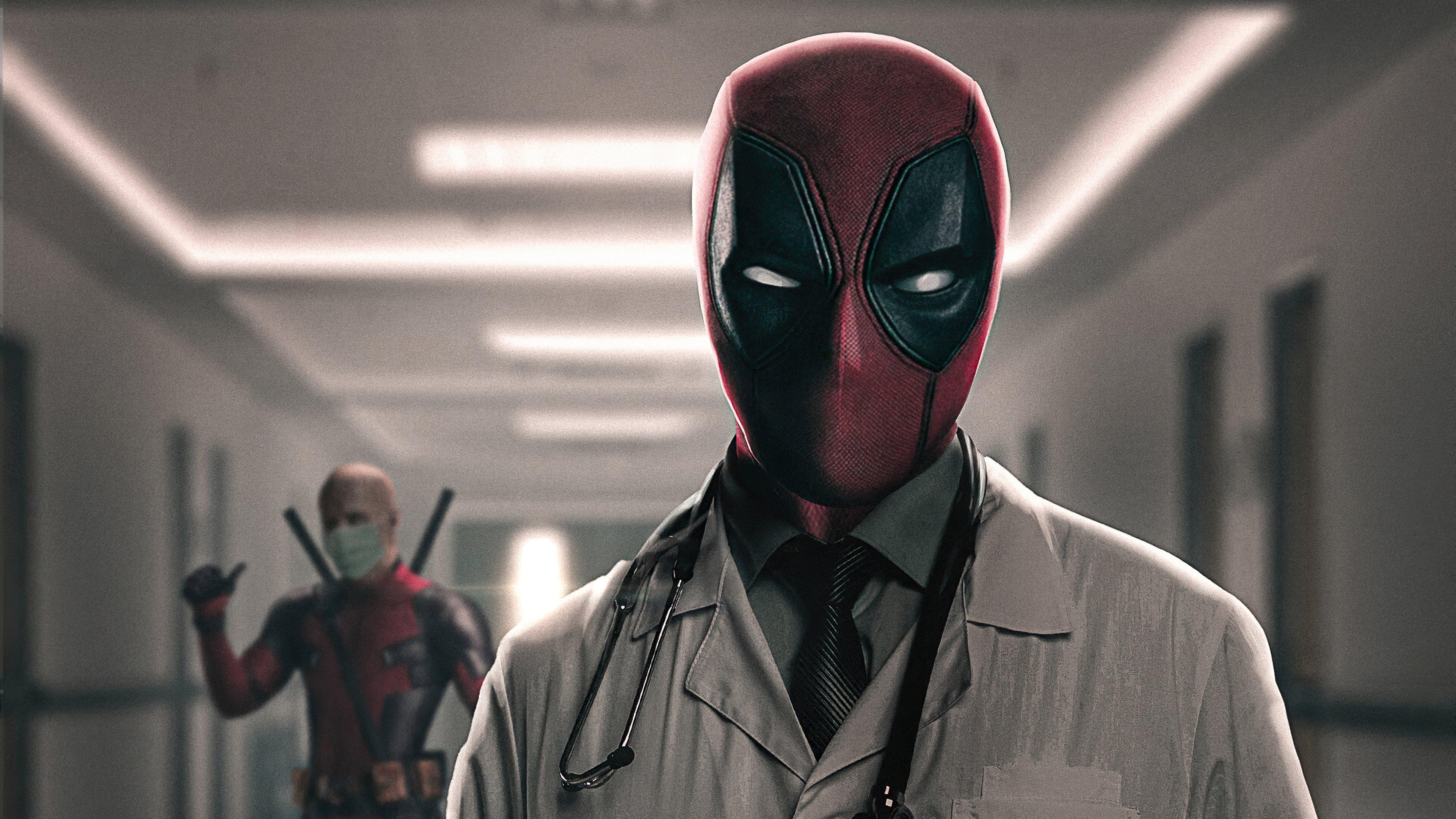 Fondos de pantalla Deadpool en el doctor