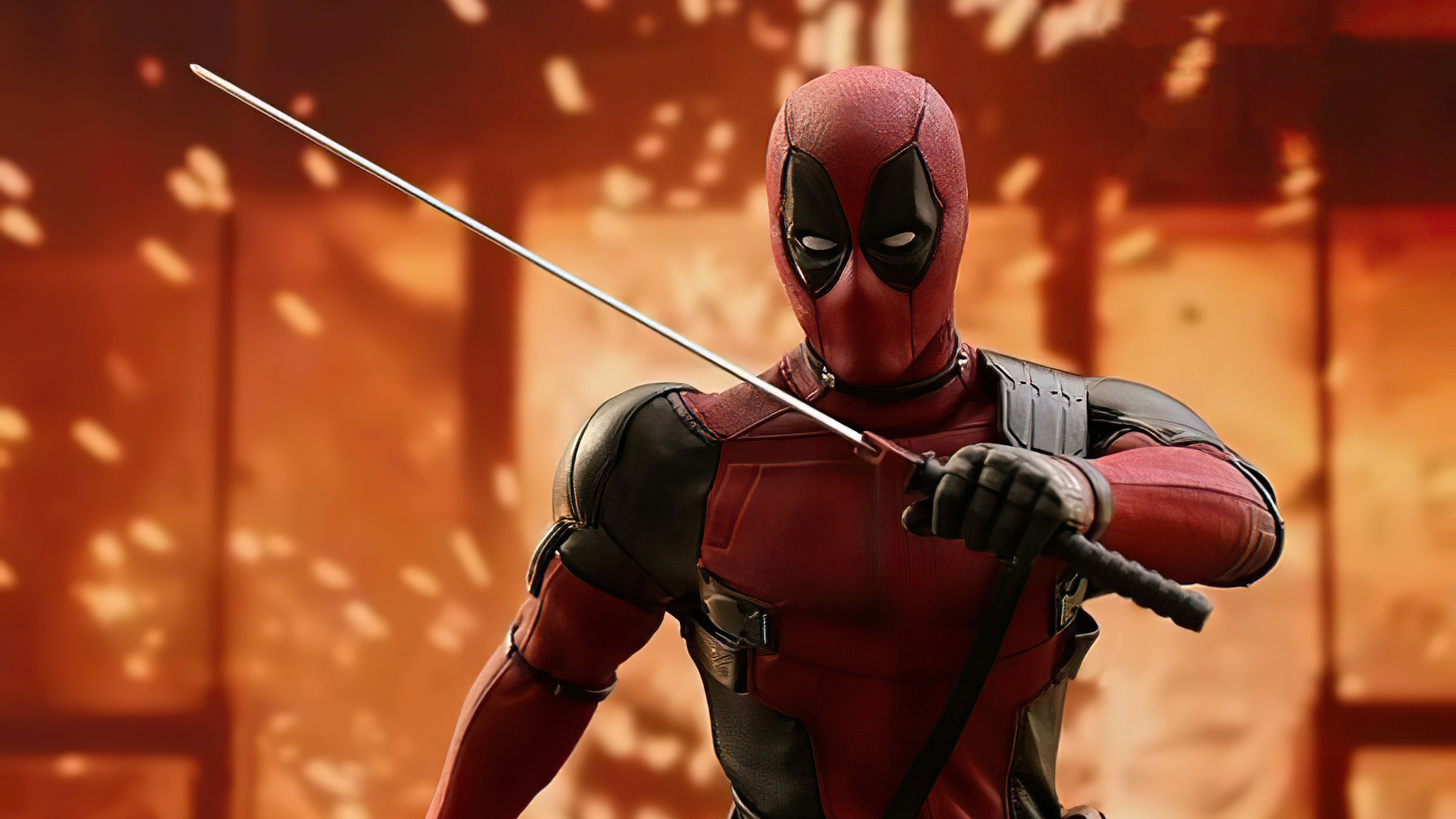 Fondos de pantalla Deadpool Hereo con espada