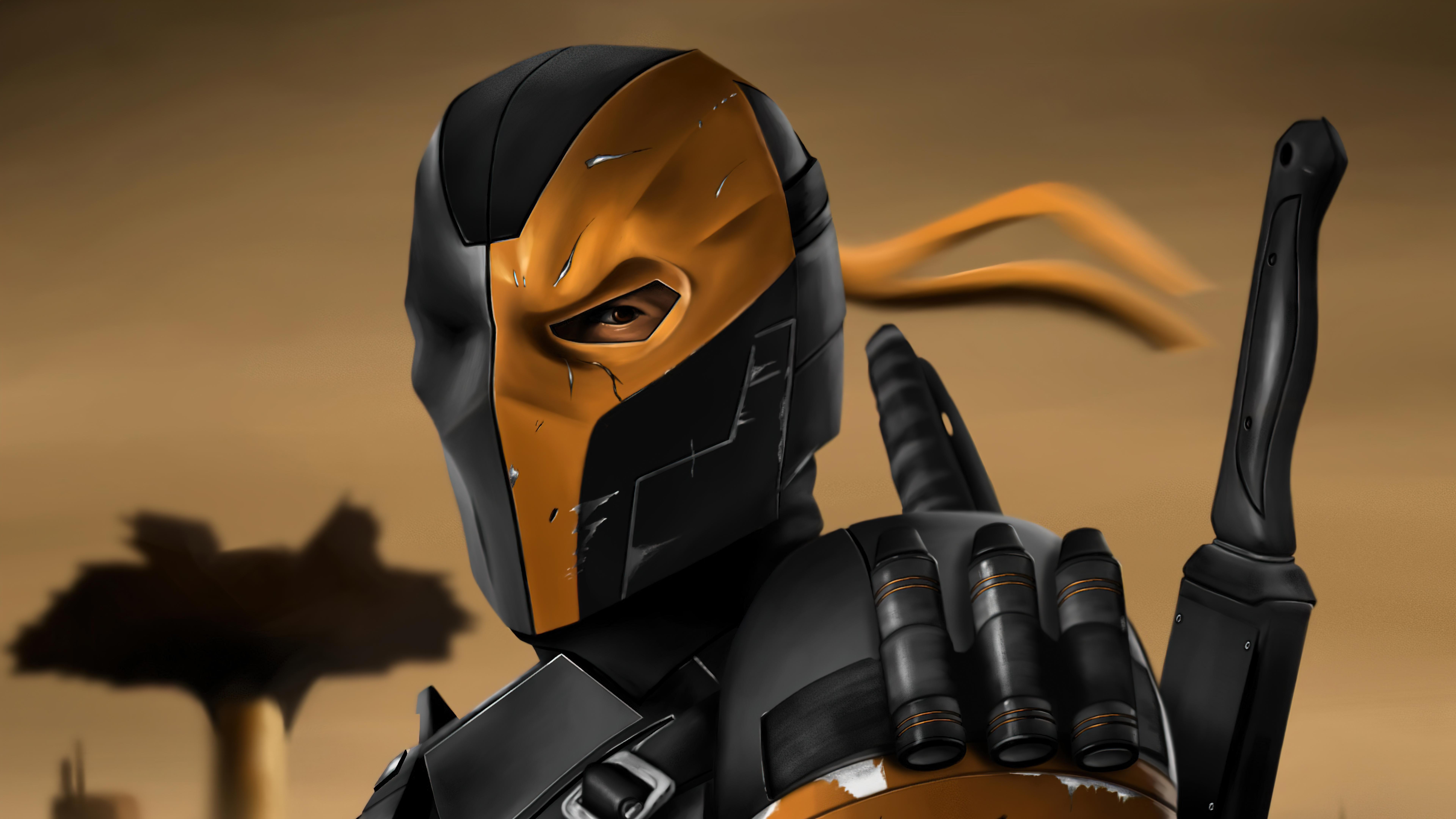 Fondos de pantalla Deathstroke Zack Snyder Liga de la justicia 2021