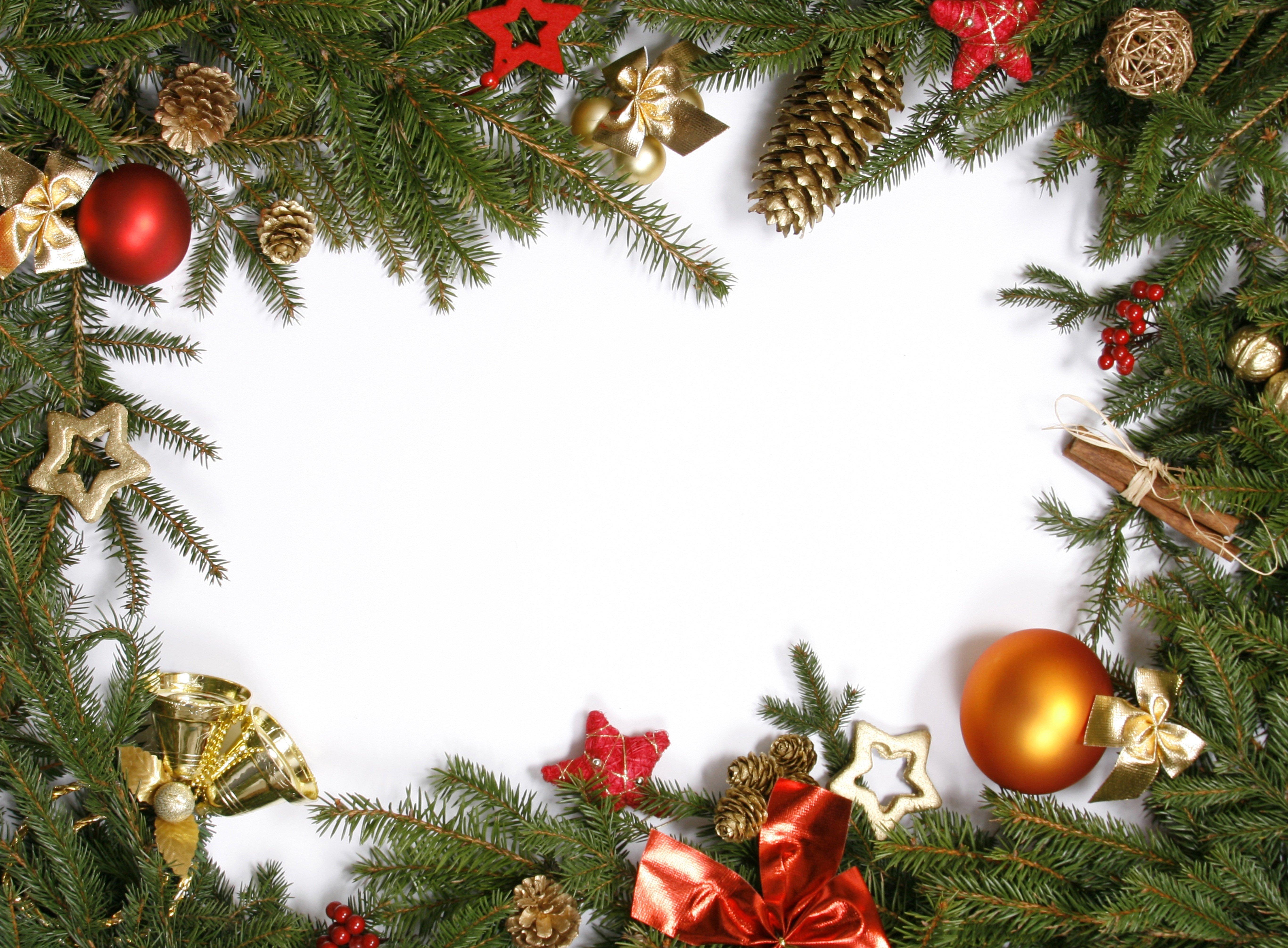 Wallpaper Decoration Christmas Ornaments