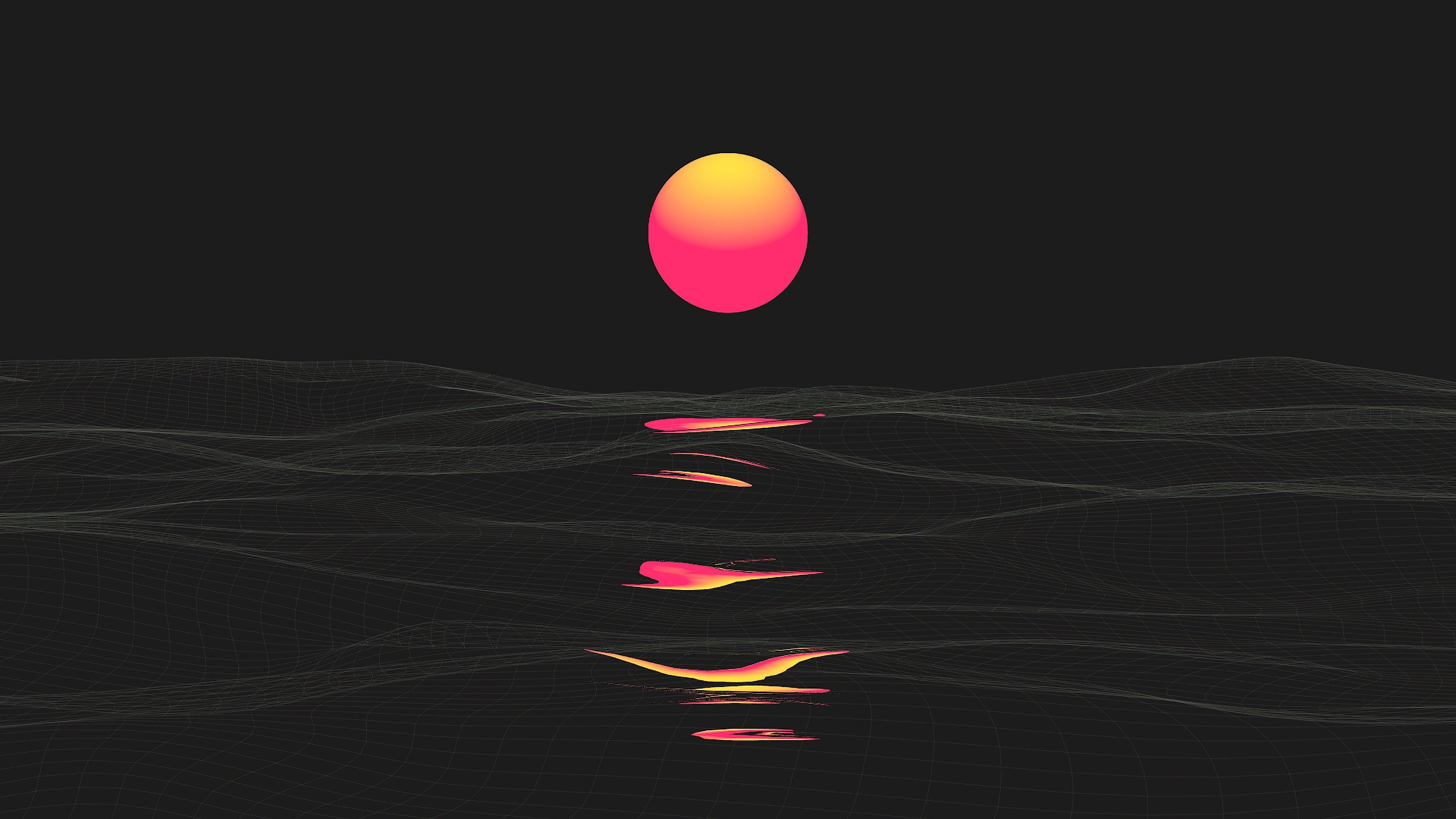 Fondos de pantalla Desierto sol abstracto