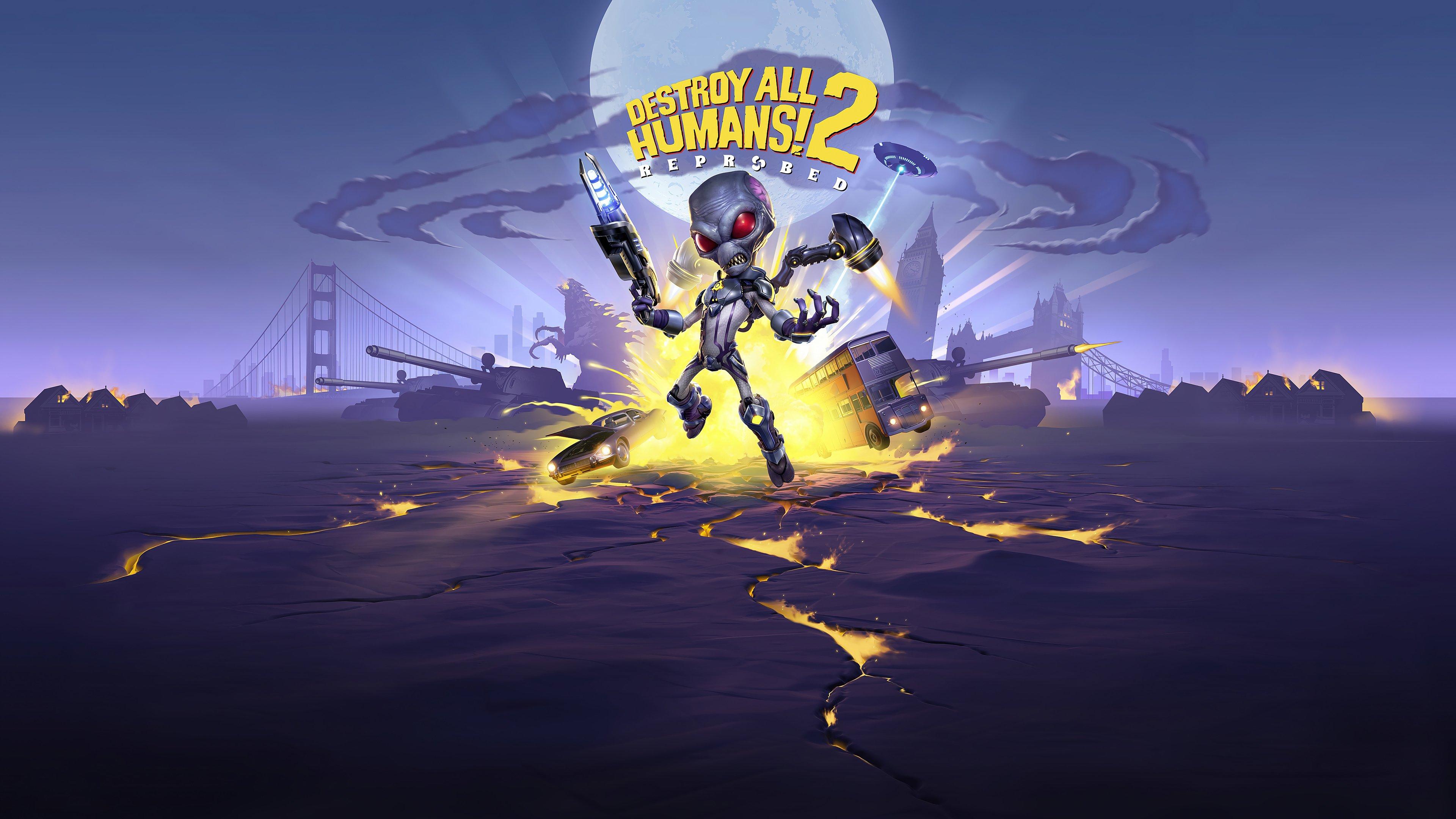 Fondos de pantalla Destroy All Humans! 2