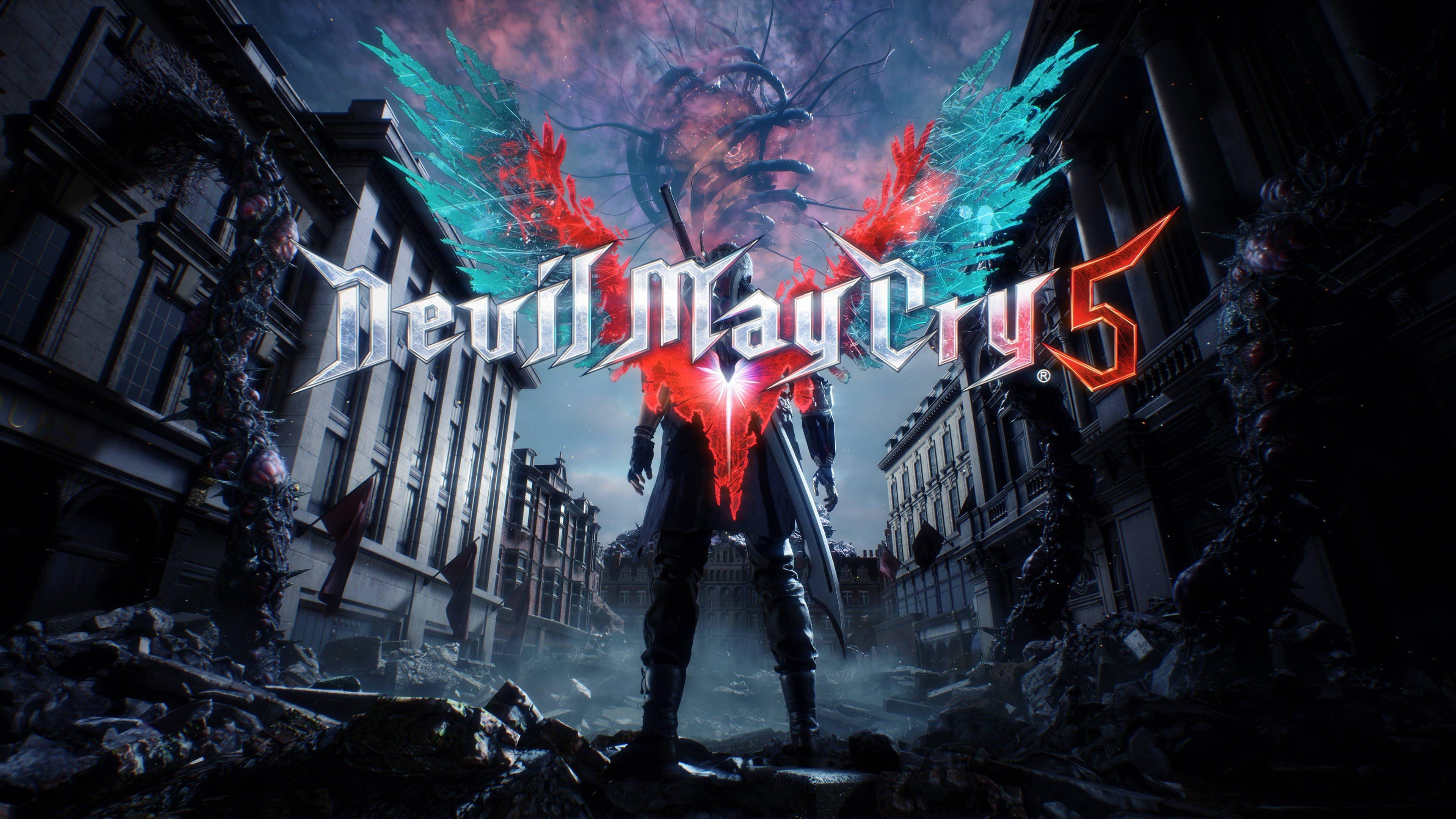 Fondos de pantalla Devil May Cry 5