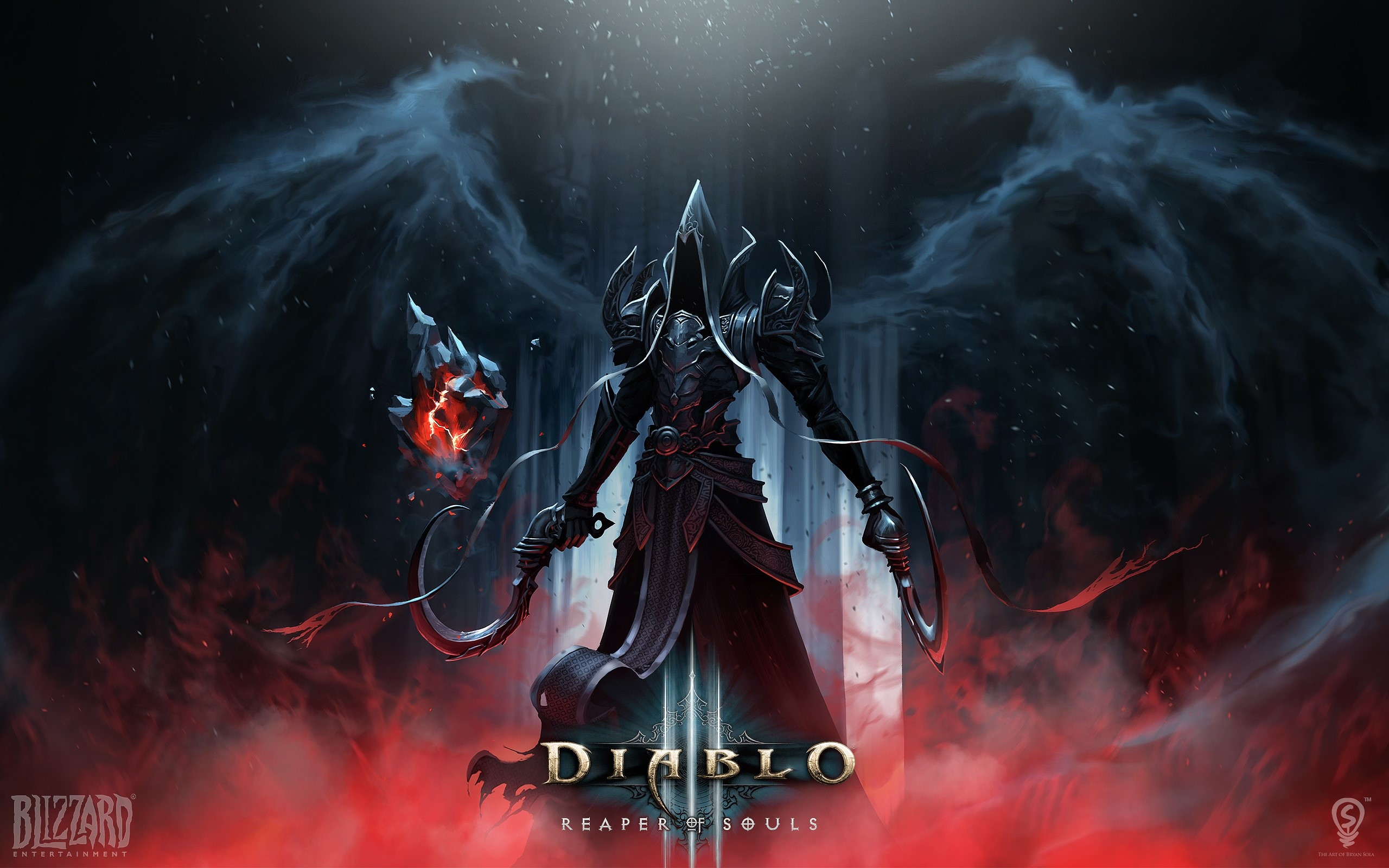 Wallpaper Diablo 3 Reaper of souls