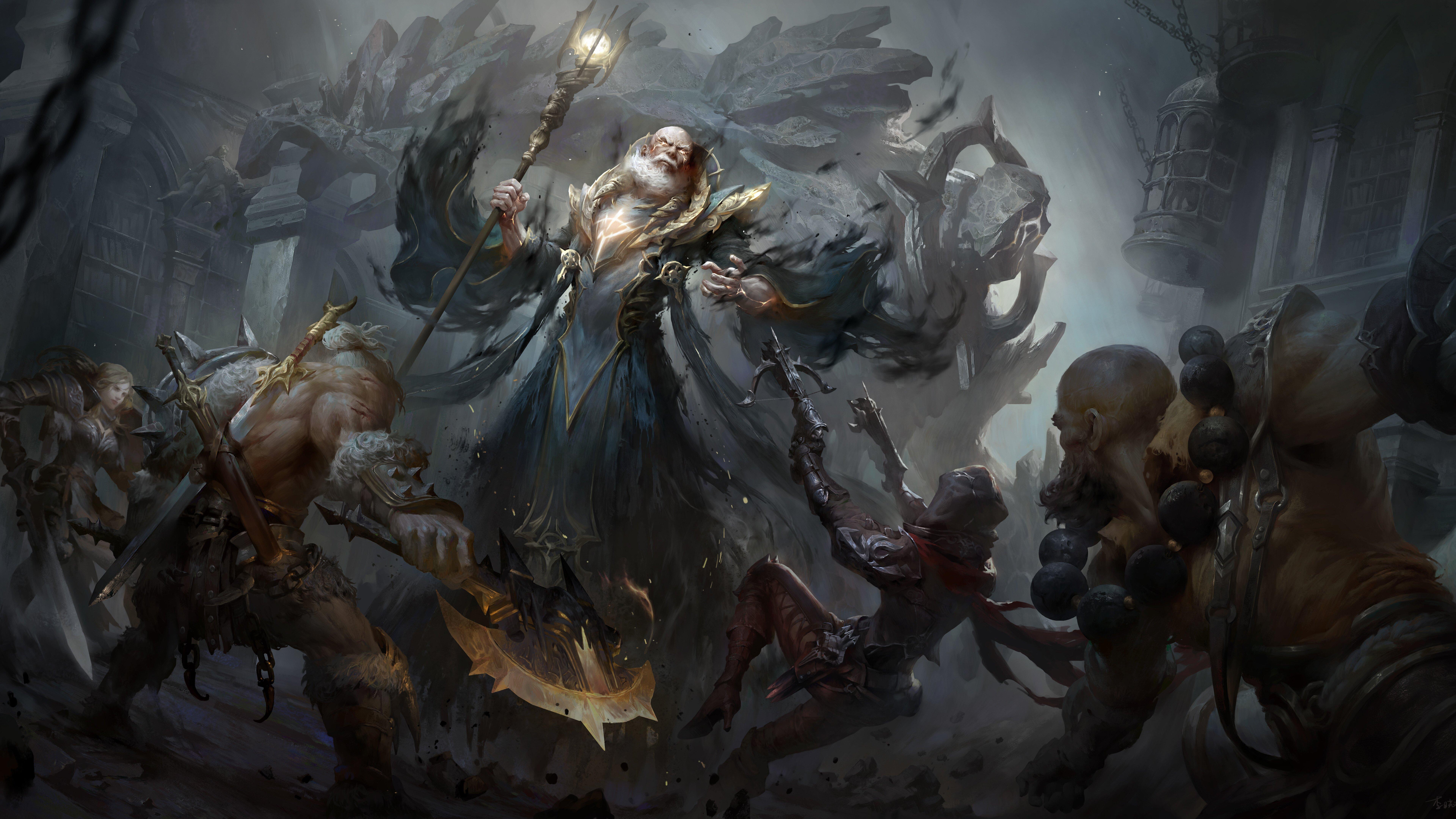 Fondos de pantalla Diablo Immortal