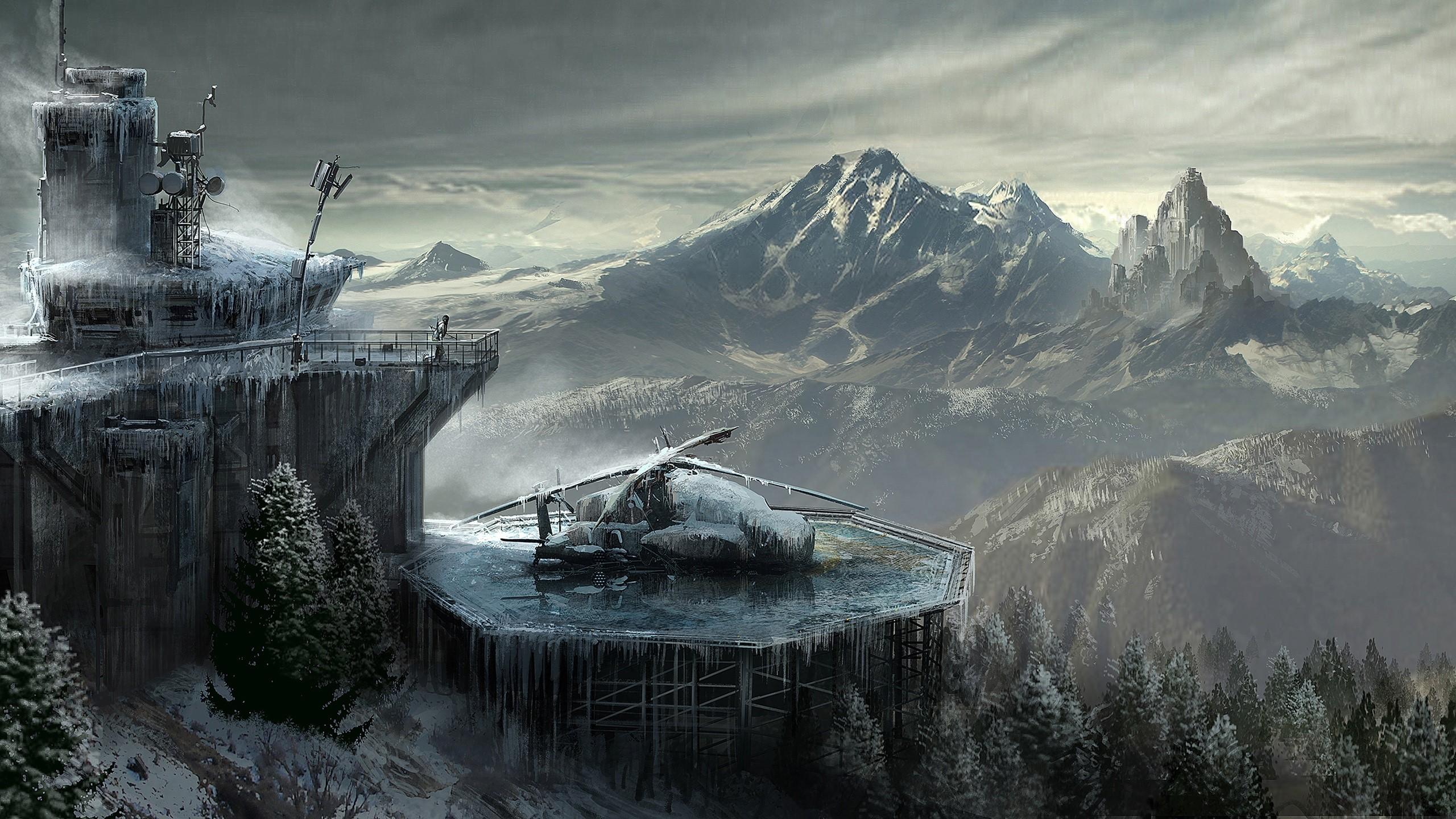 Fondo de pantalla de Dibujo de Rise Of The Tomb Raider Imágenes