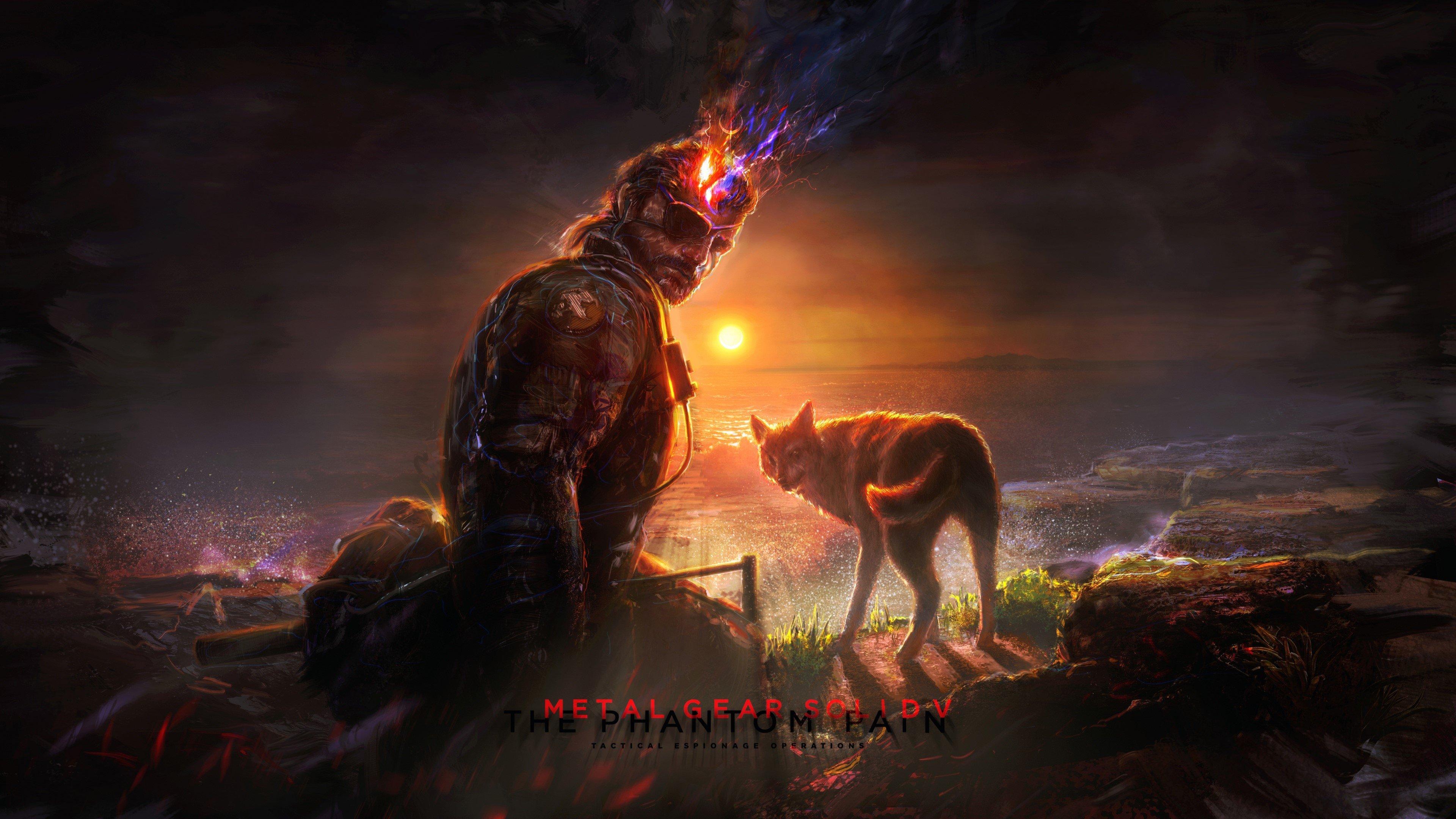 Wallpaper Drawing Metal Gear solid V The phantom pain