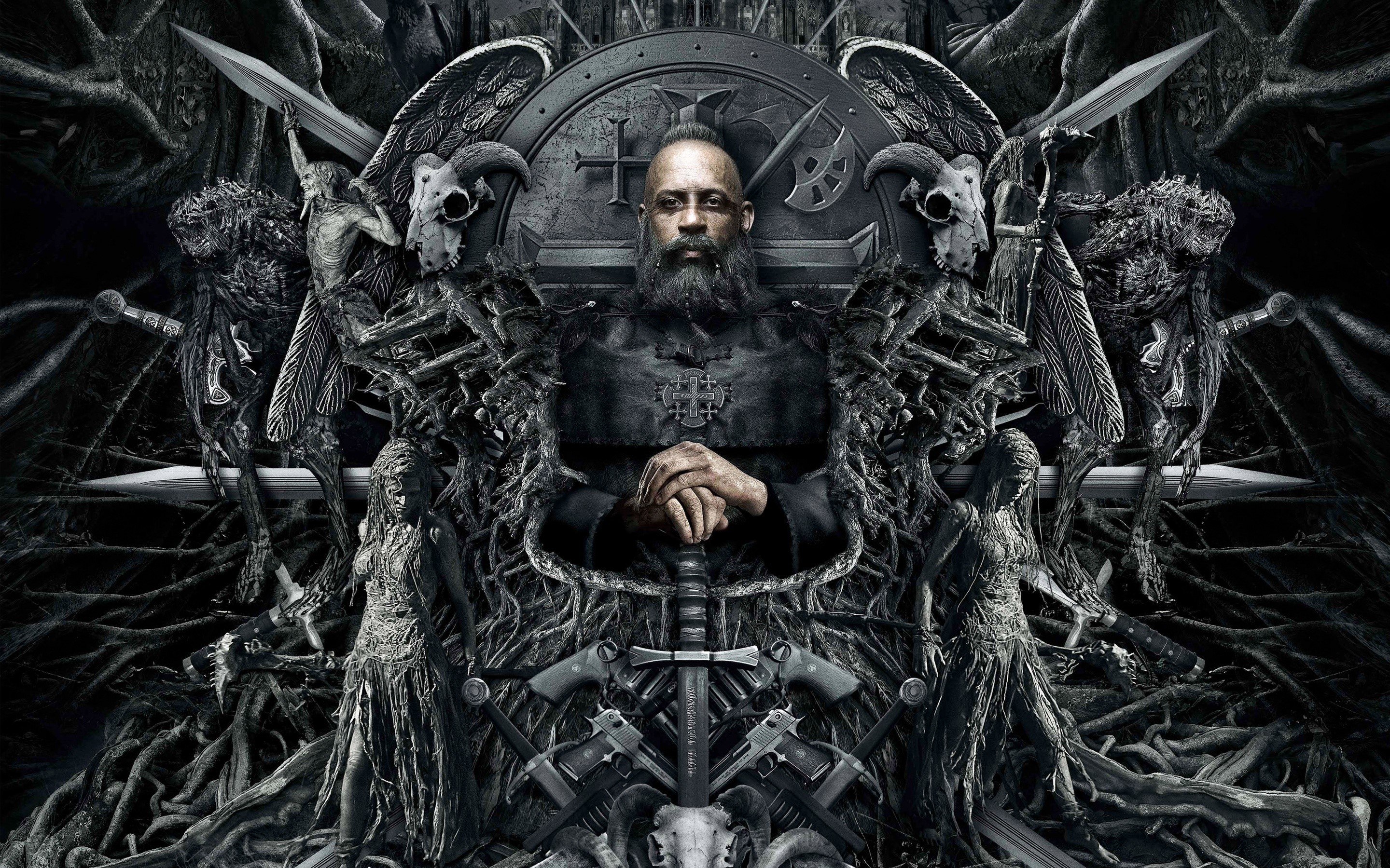 Wallpaper Diesel in The Last Witch Hunter