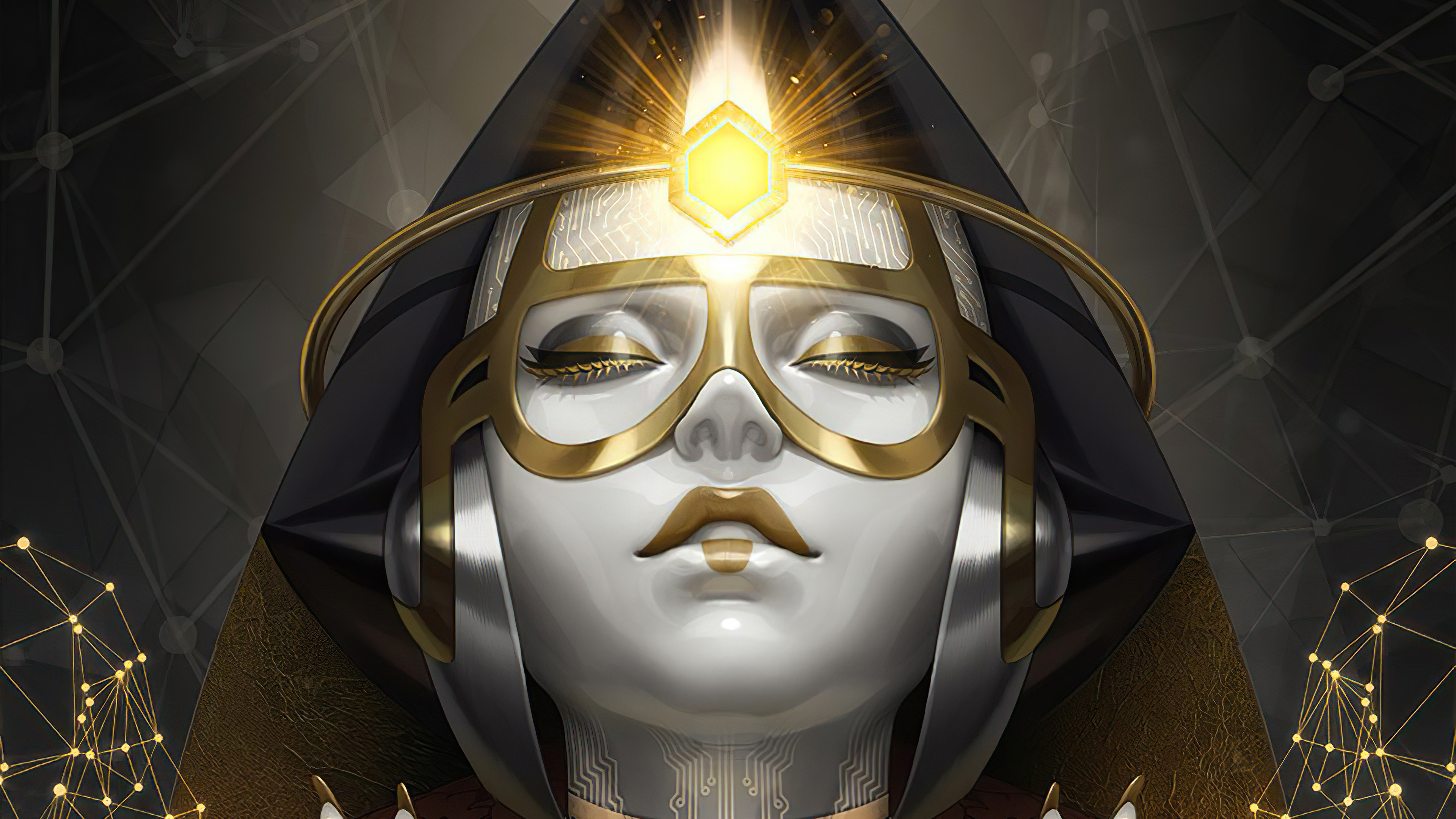 Wallpaper Crypto Goddess