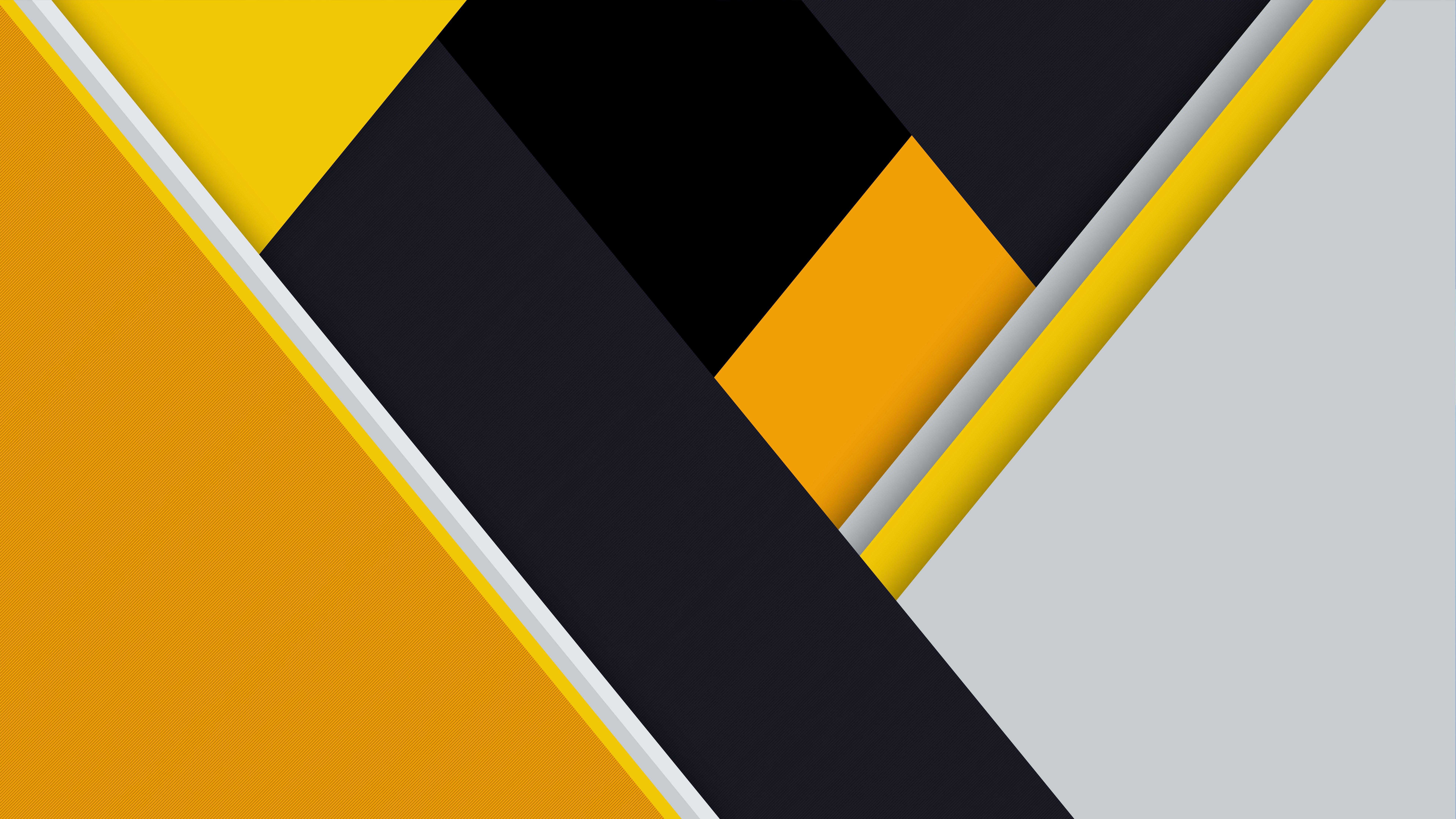 Fondos de pantalla Diseño de amarillo, negro y gris